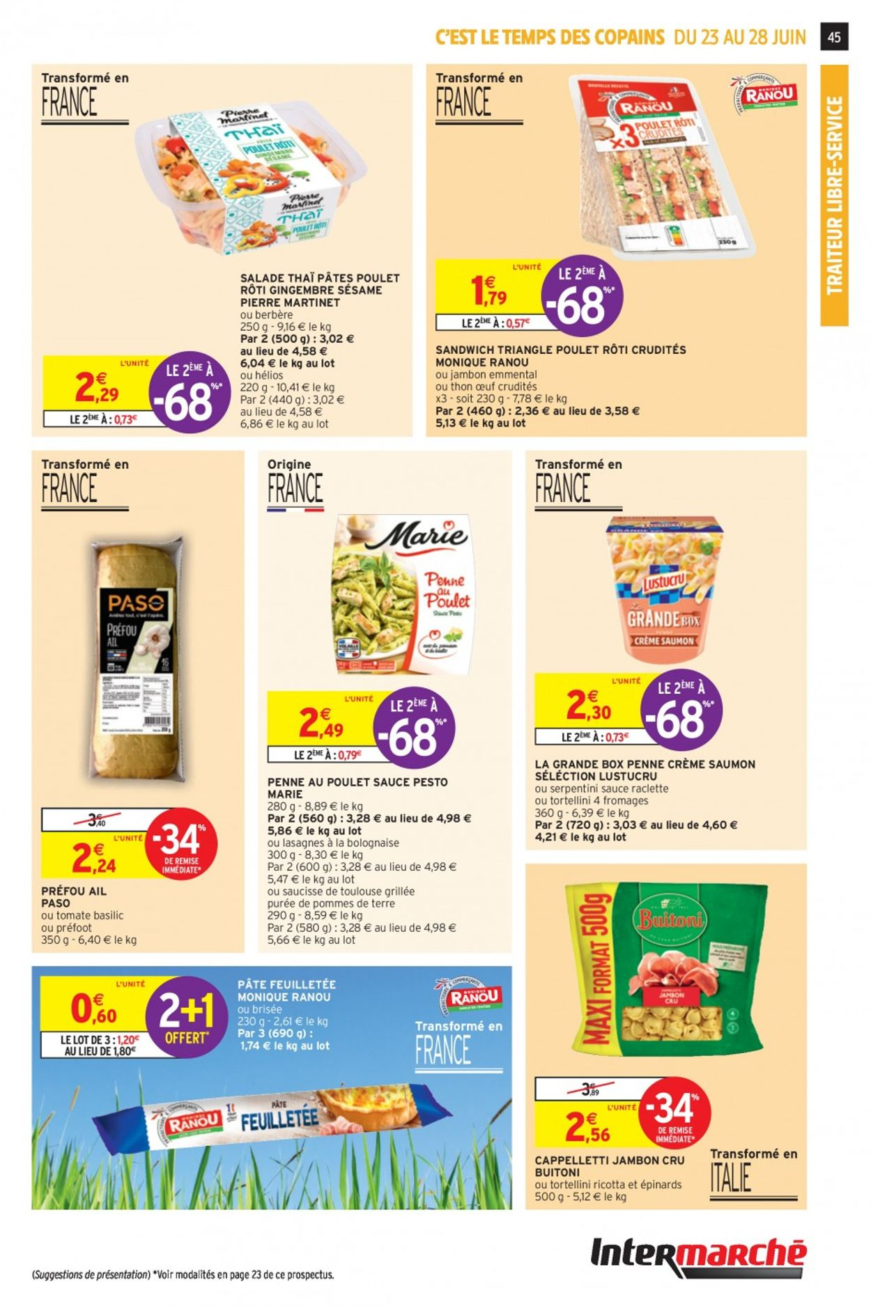 Intermarché Catalogue - 23.06-28.06.2020 (Page 45)