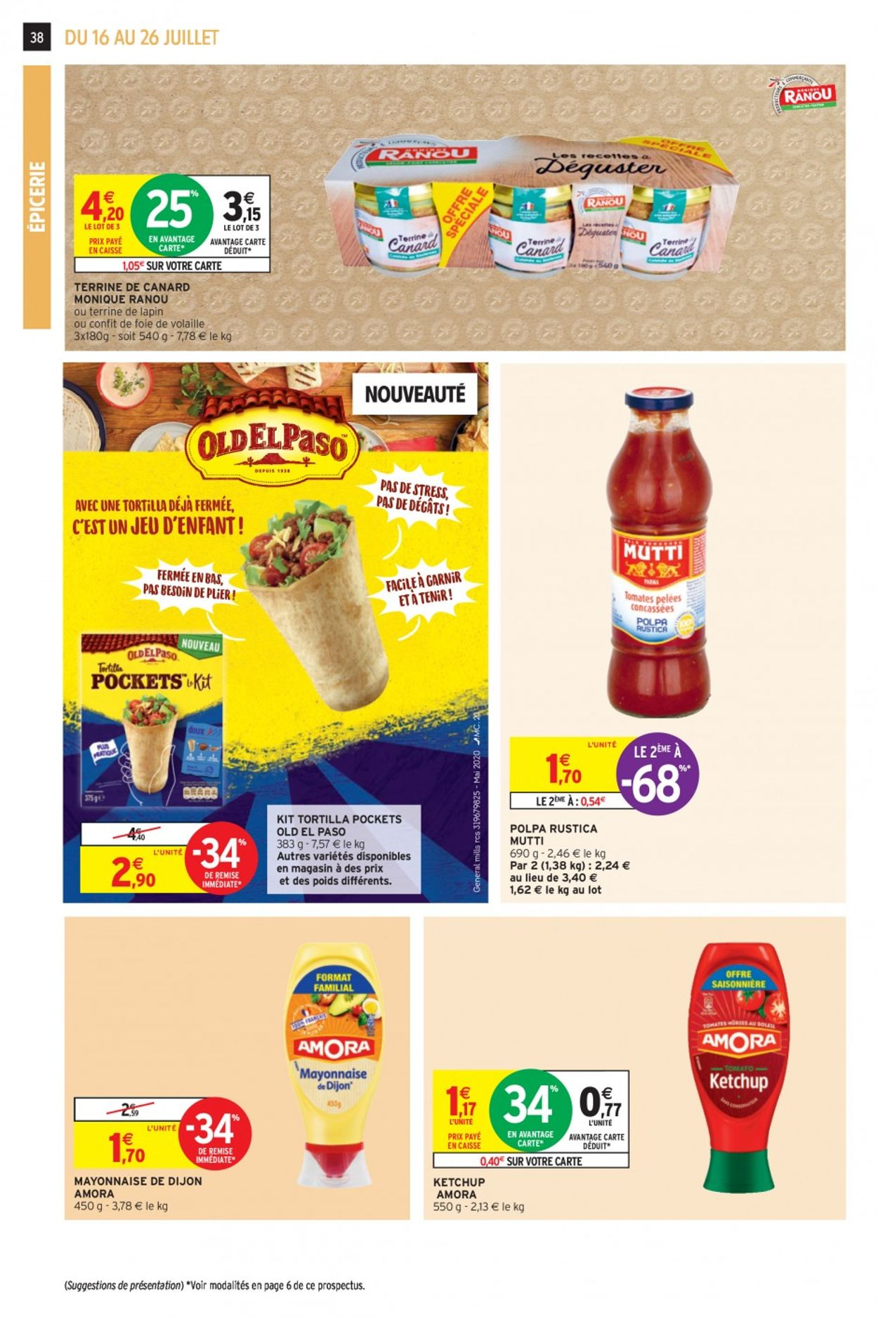 Intermarché Catalogue - 16.07-26.07.2020 (Page 36)