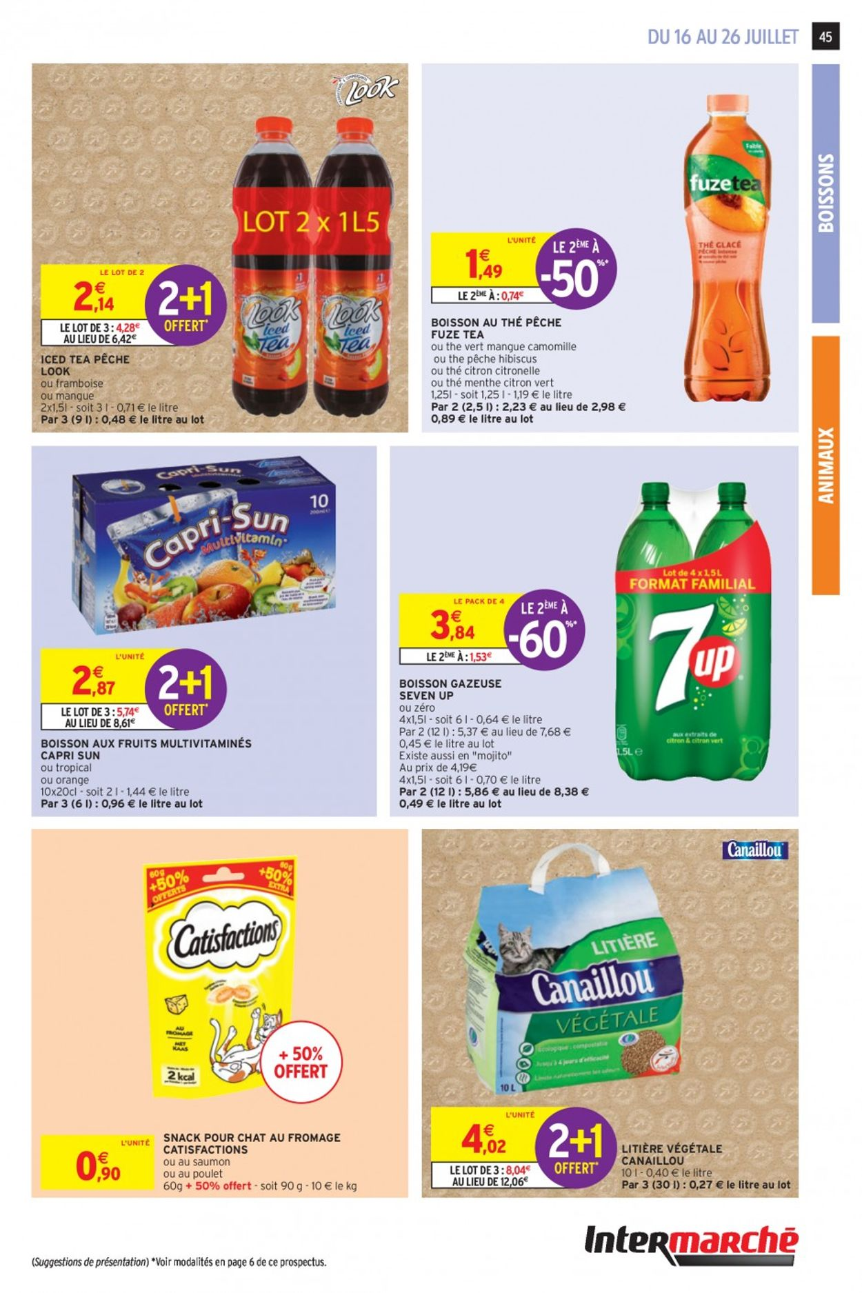 Intermarché Catalogue - 16.07-26.07.2020 (Page 43)