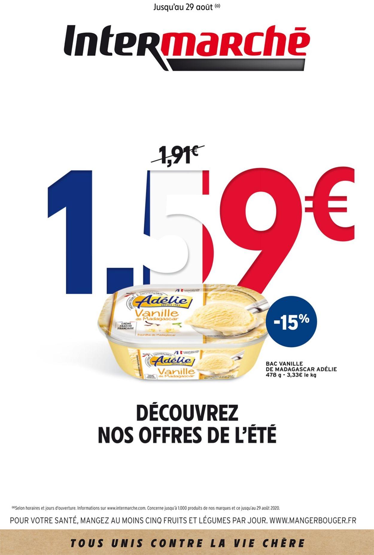 Intermarché Catalogue - 09.07-29.08.2020