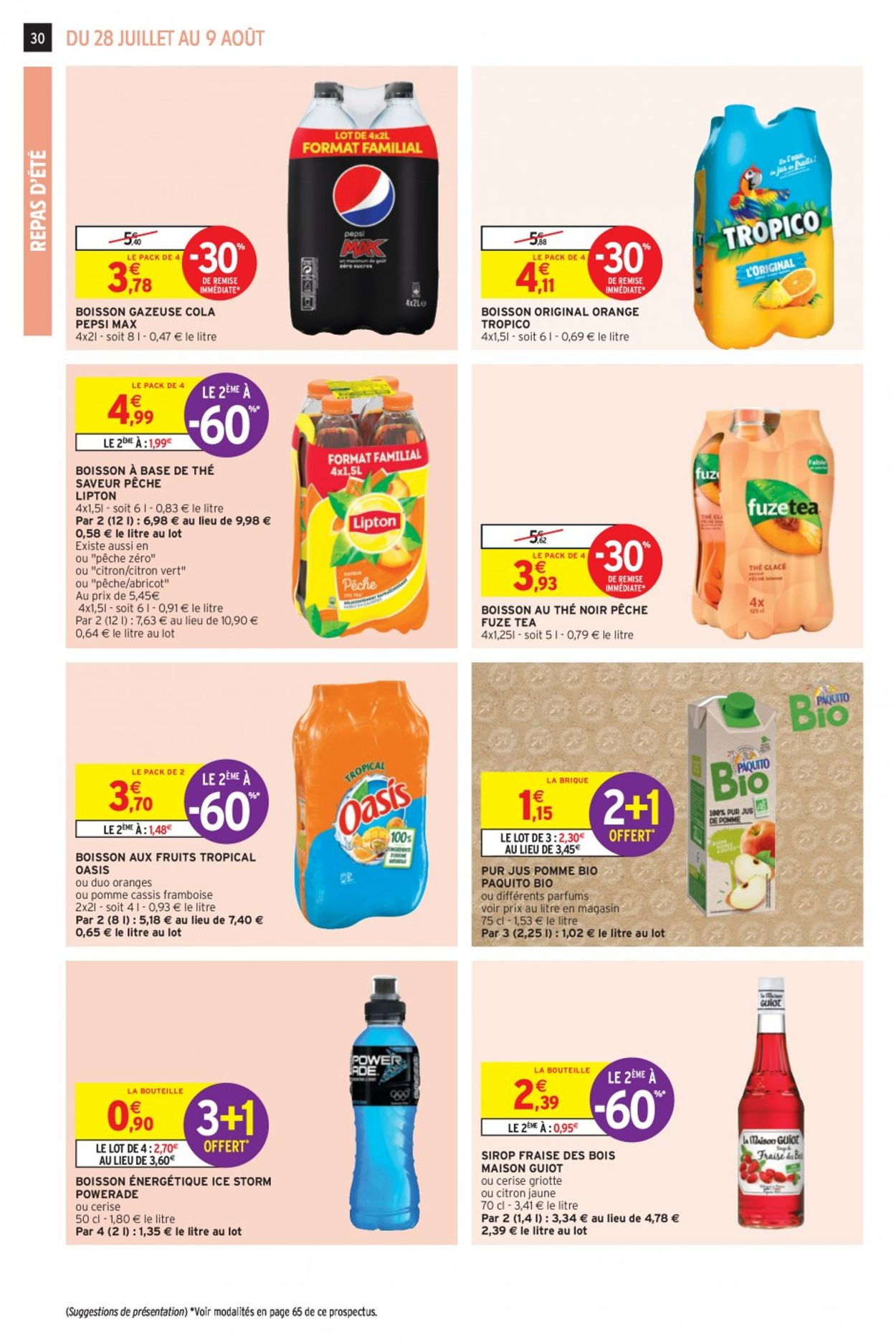 Intermarché Catalogue - 28.07-09.08.2020 (Page 30)