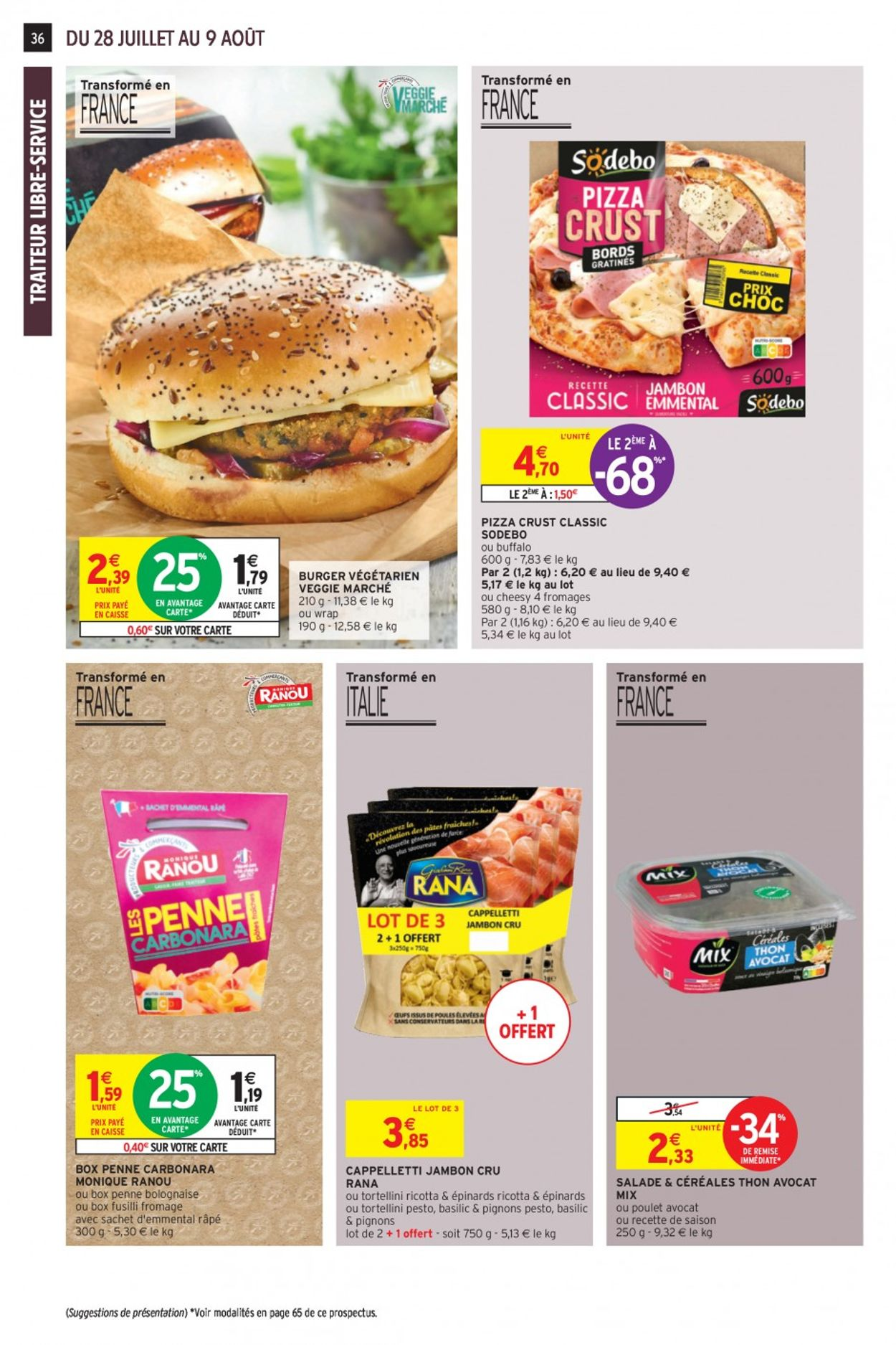 Intermarché Catalogue - 28.07-09.08.2020 (Page 36)
