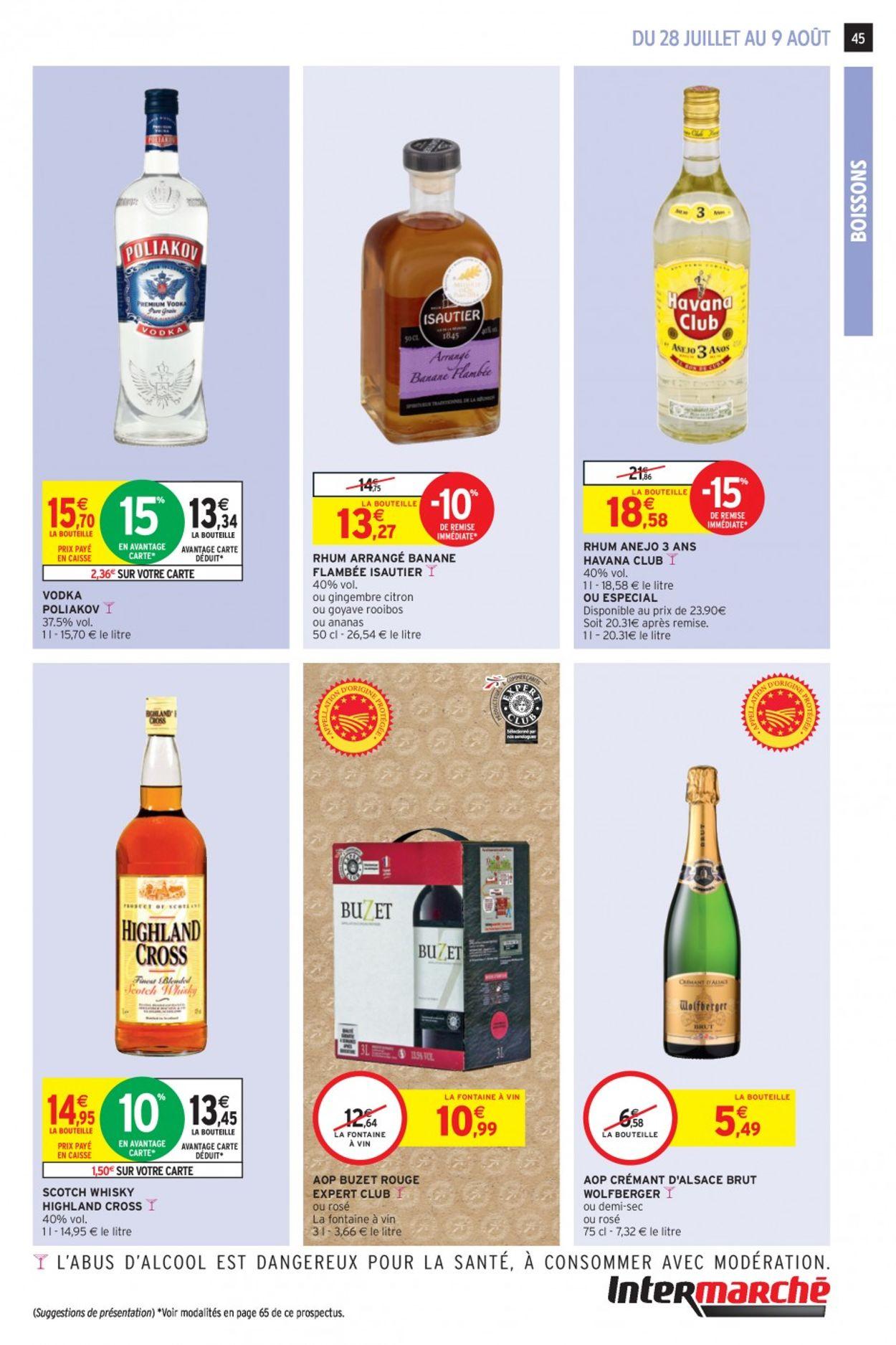 Intermarché Catalogue - 28.07-09.08.2020 (Page 45)