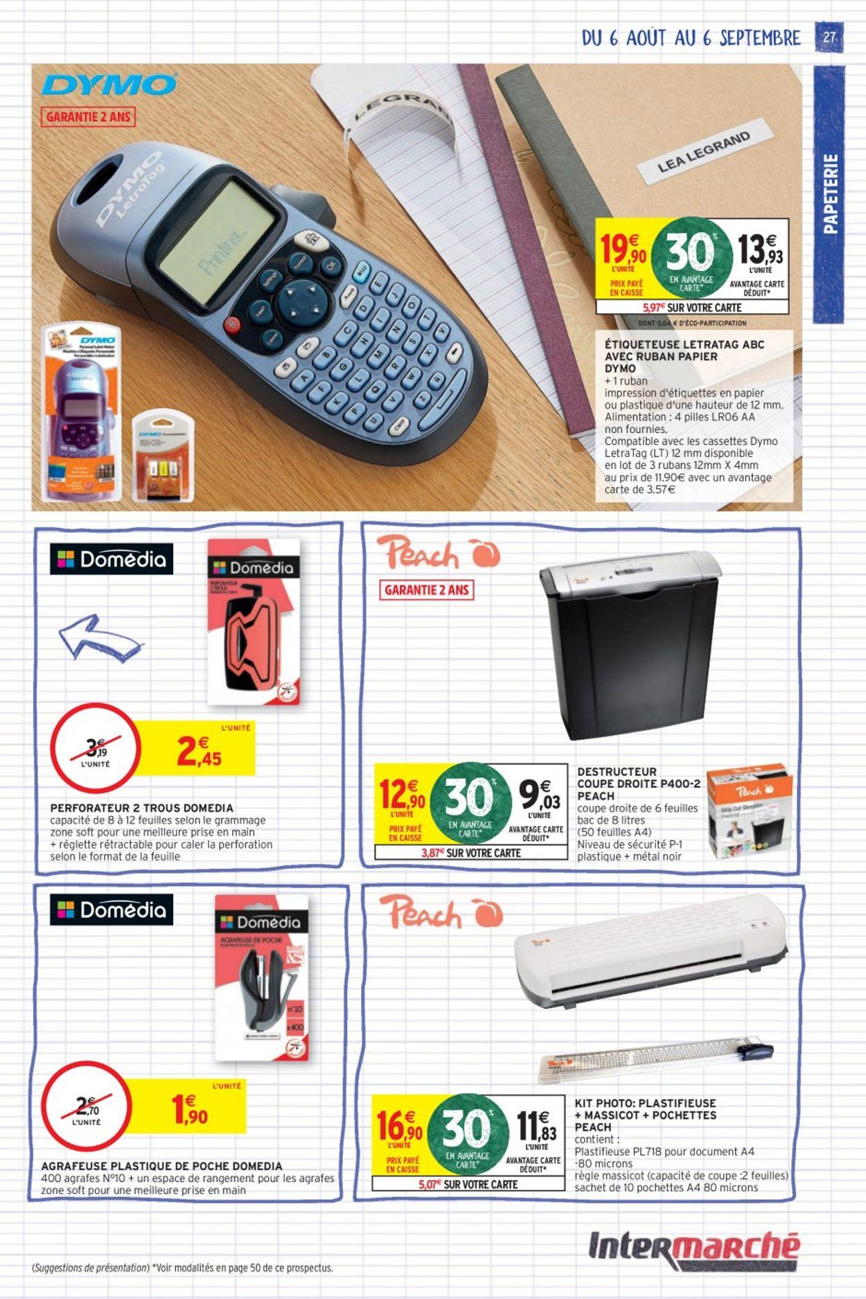 Intermarché Catalogue - 06.08-06.09.2020 (Page 27)