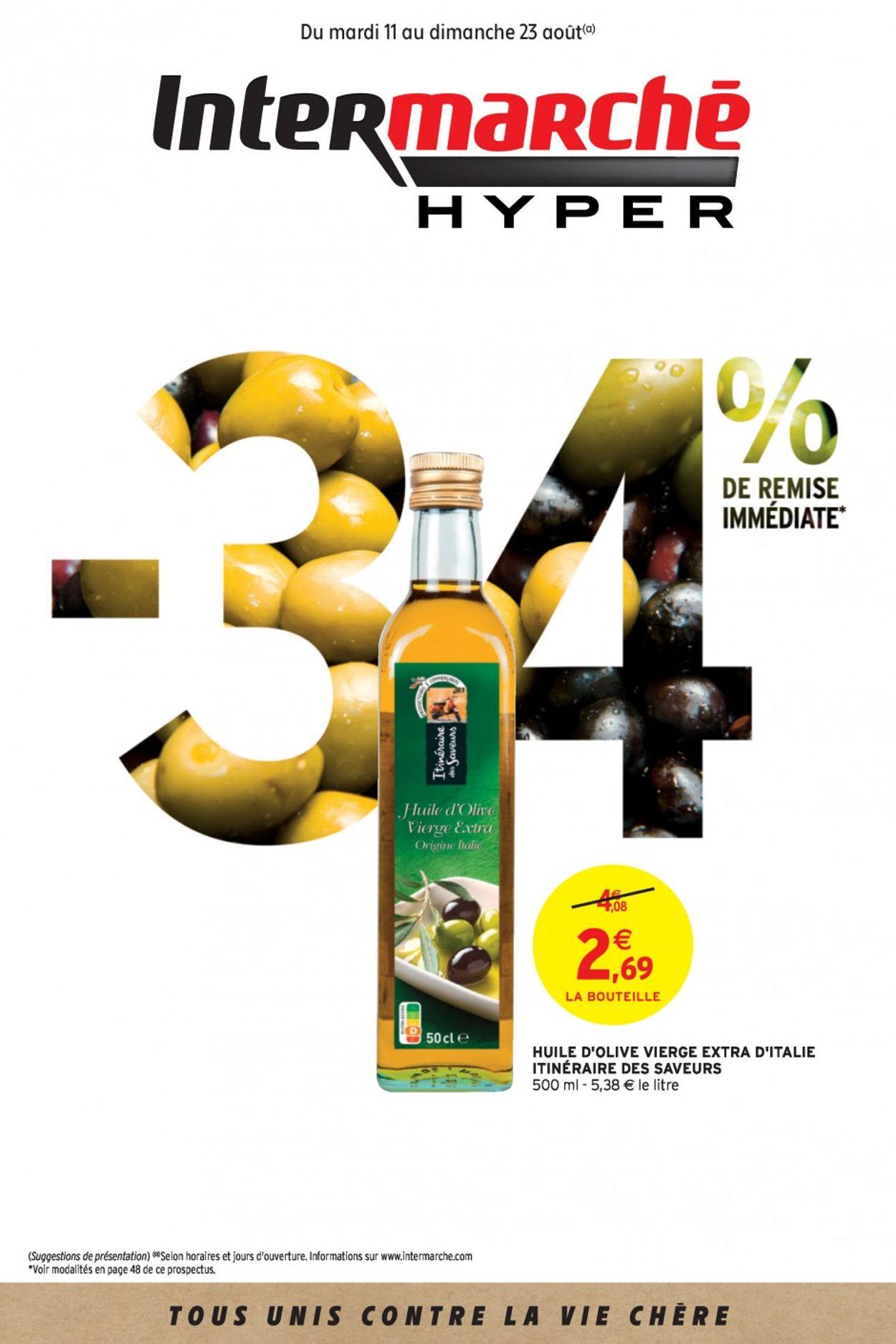 Intermarché Catalogue - 11.08-23.08.2020