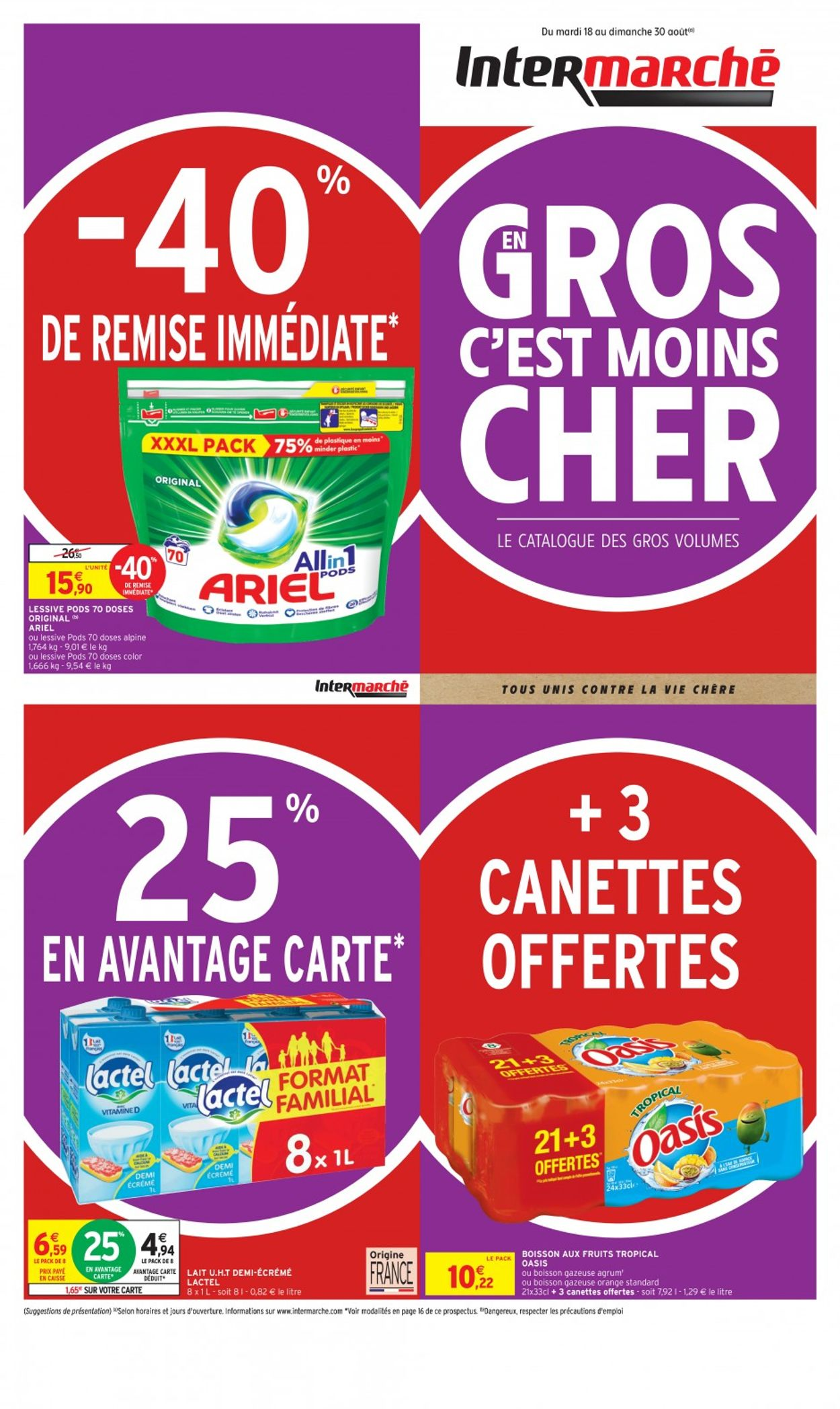Intermarché Catalogue - 18.08-30.08.2020