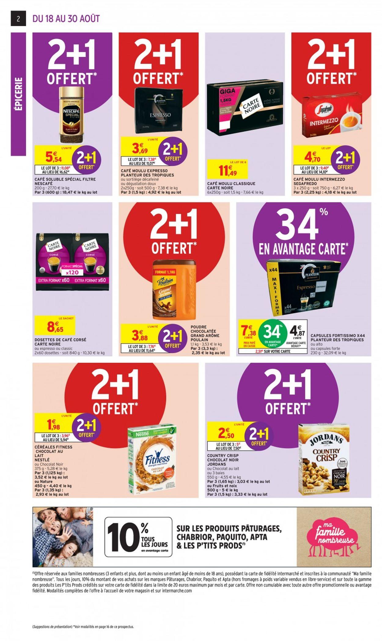Intermarché Catalogue - 18.08-30.08.2020 (Page 2)