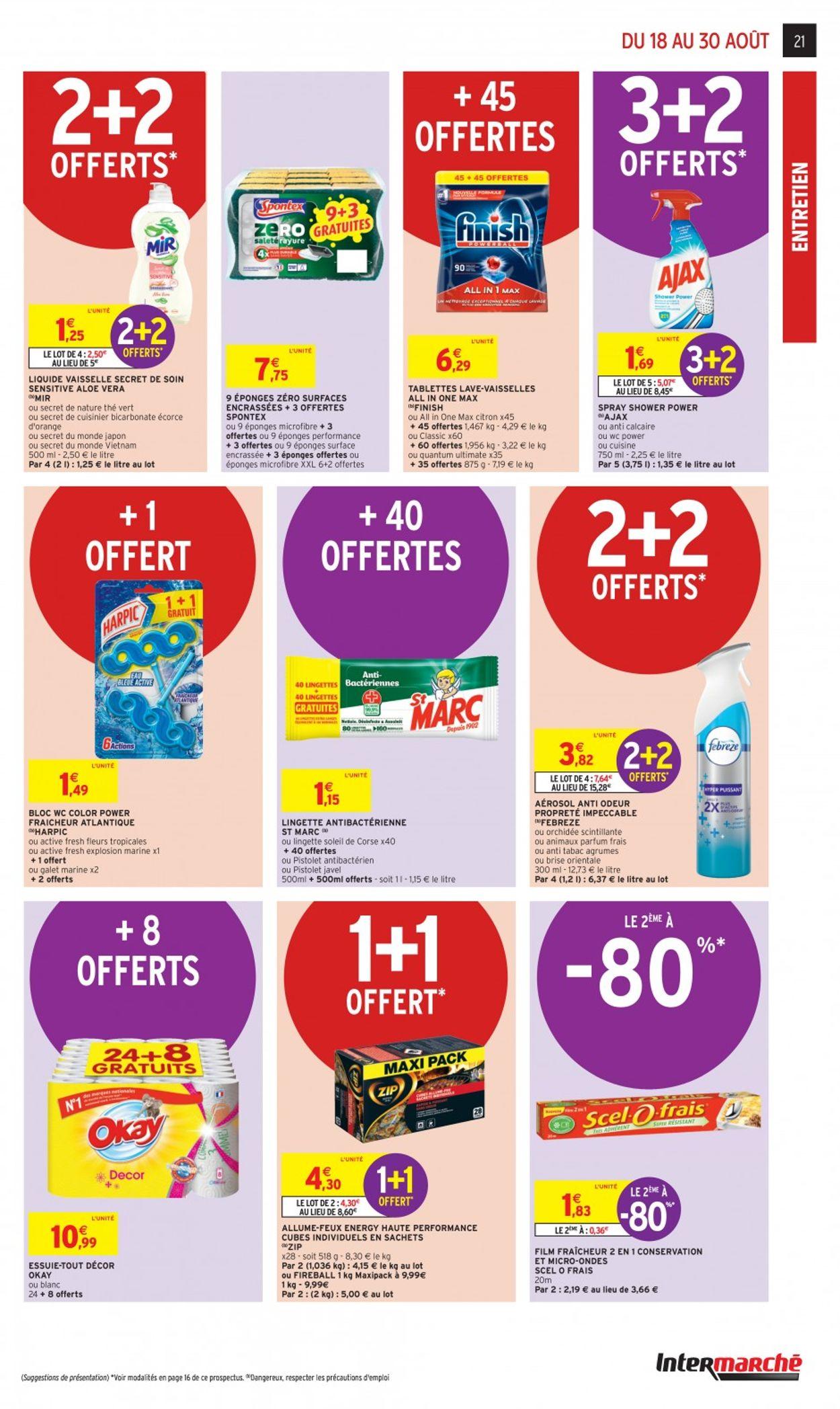 Intermarché Catalogue - 18.08-30.08.2020 (Page 21)