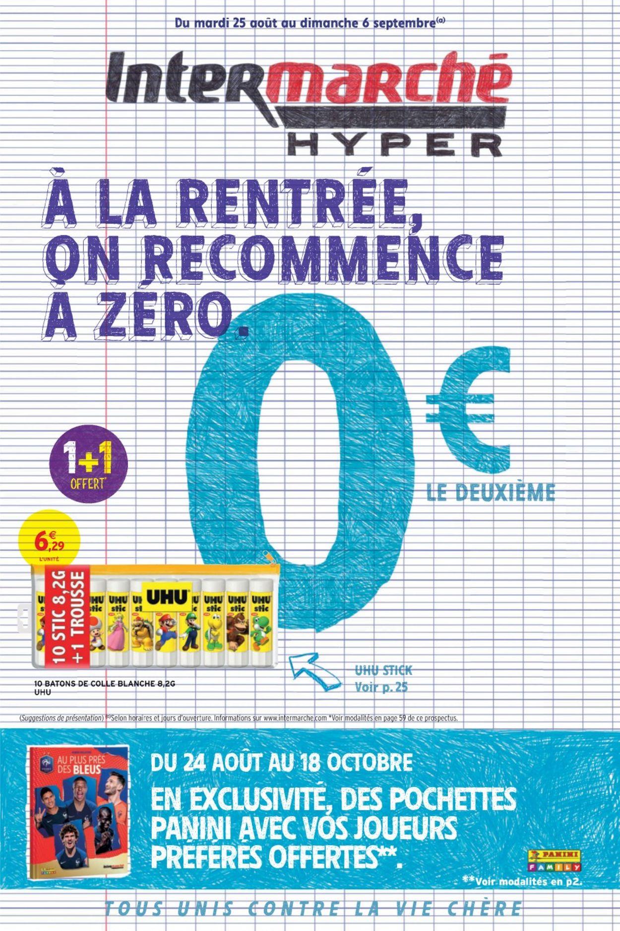Intermarché Catalogue - 25.08-06.09.2020
