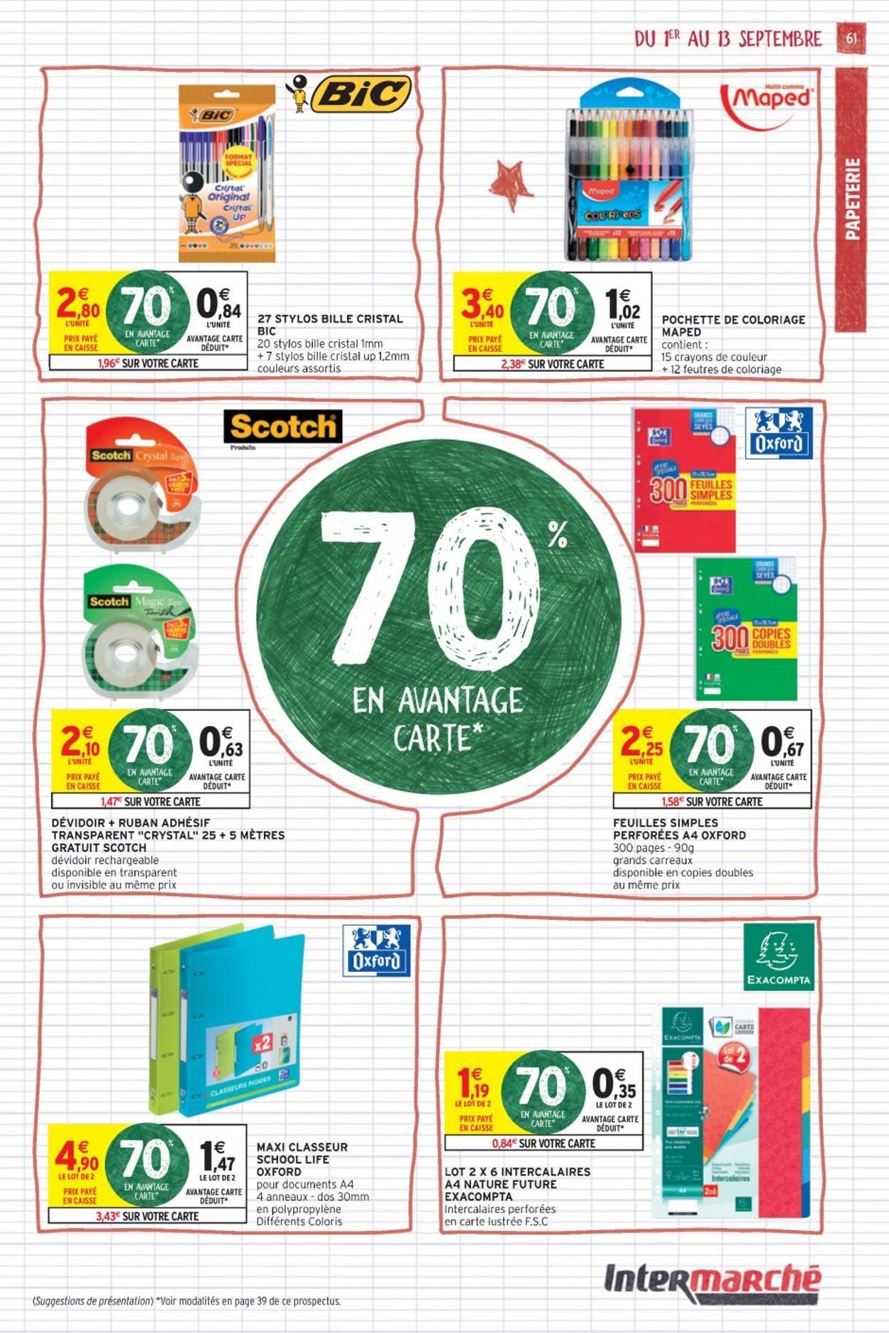 Intermarché Catalogue - 01.09-13.09.2020 (Page 61)