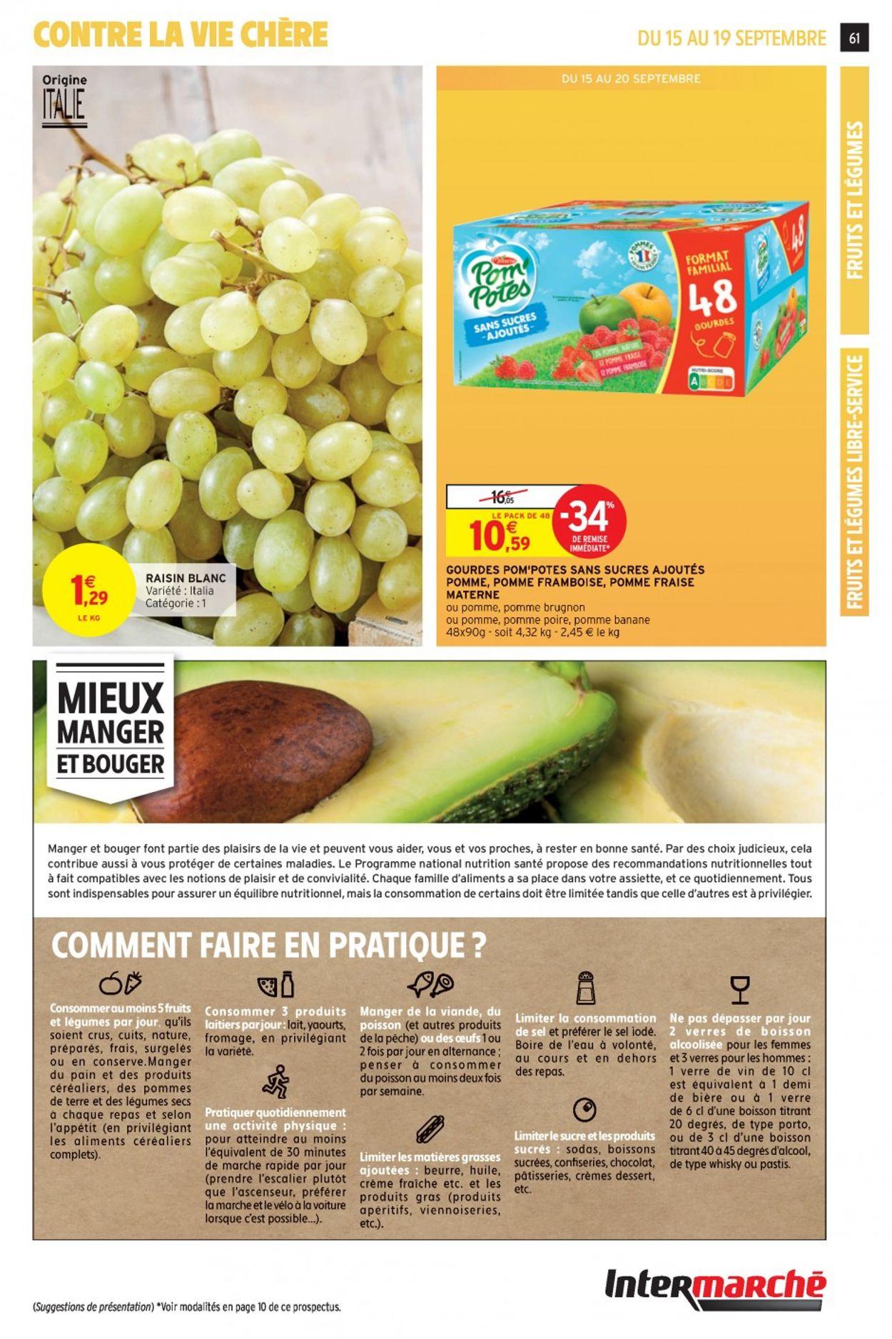 Intermarché Catalogue - 15.09-20.09.2020 (Page 61)