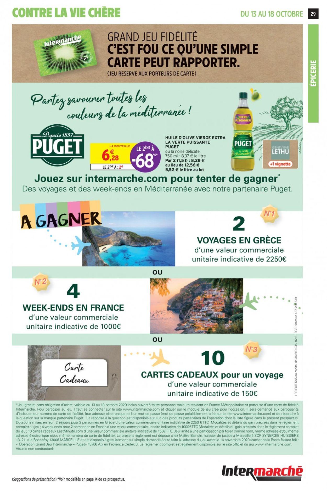 Intermarché Catalogue - 13.10-18.10.2020 (Page 29)