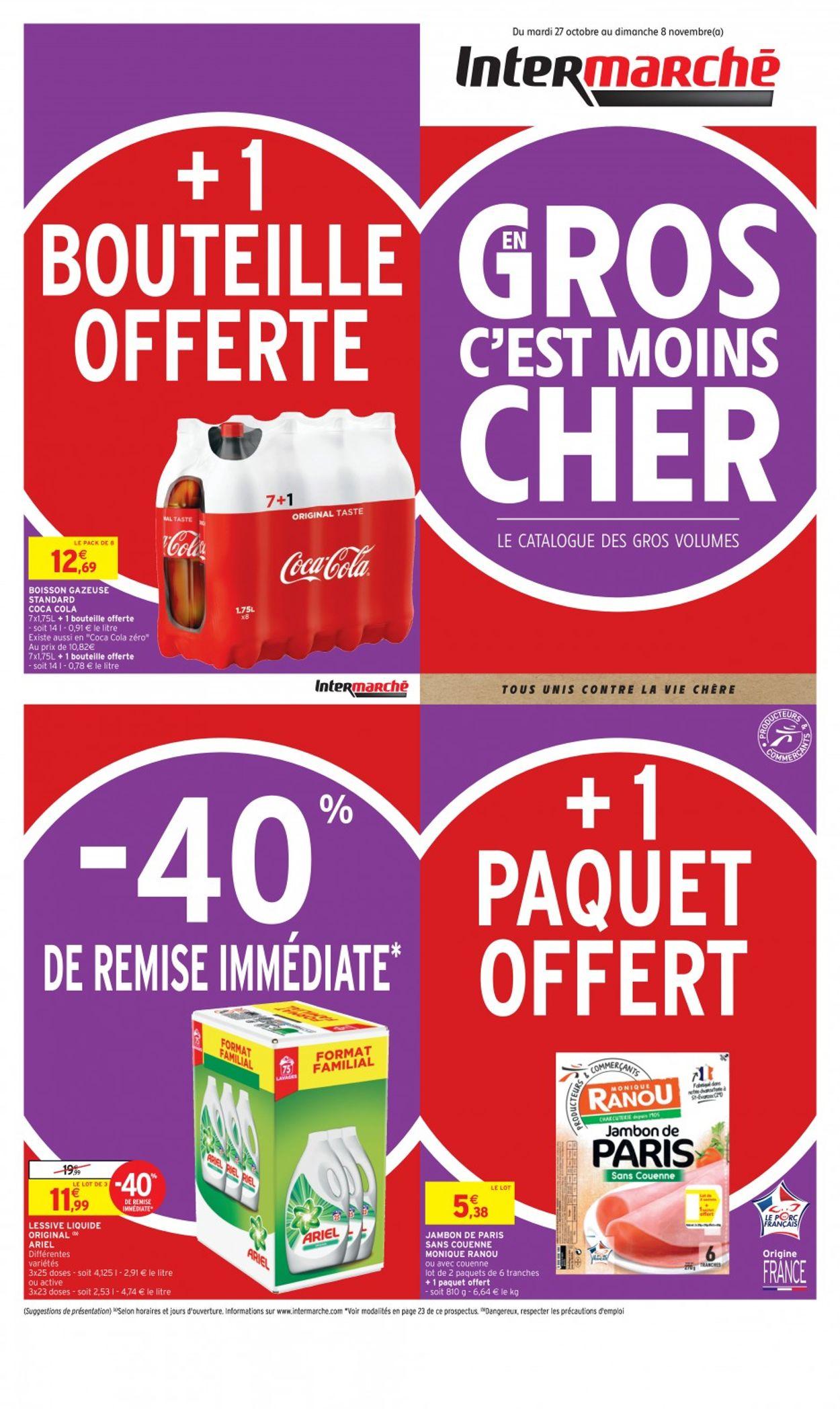 Intermarché Catalogue - 27.10-08.11.2020