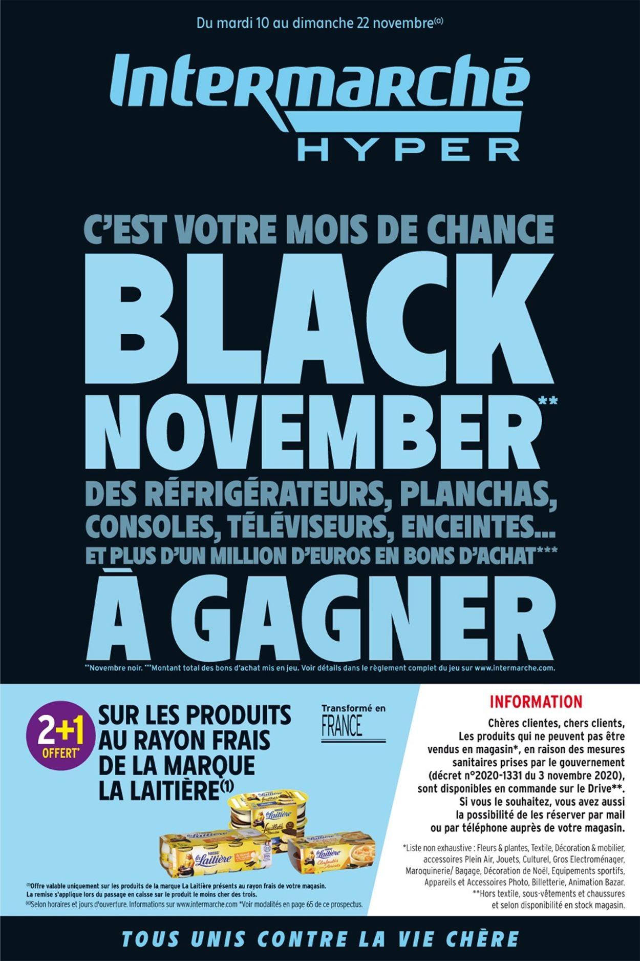 Intermarché Black Friday 2020 Catalogue - 10.11-22.11.2020