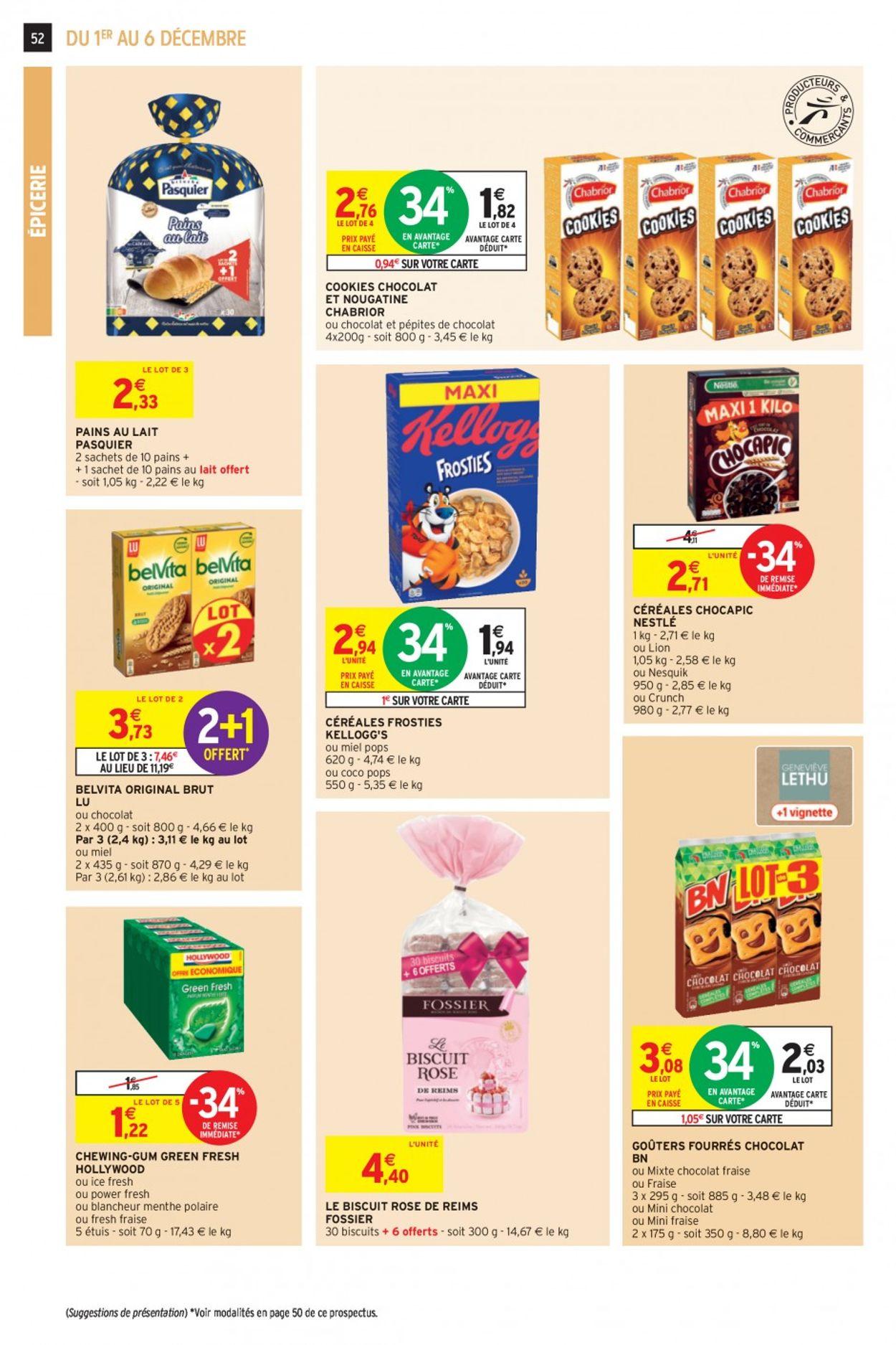 Intermarché Noel 2020 Catalogue - 01.12-06.12.2020 (Page 52)