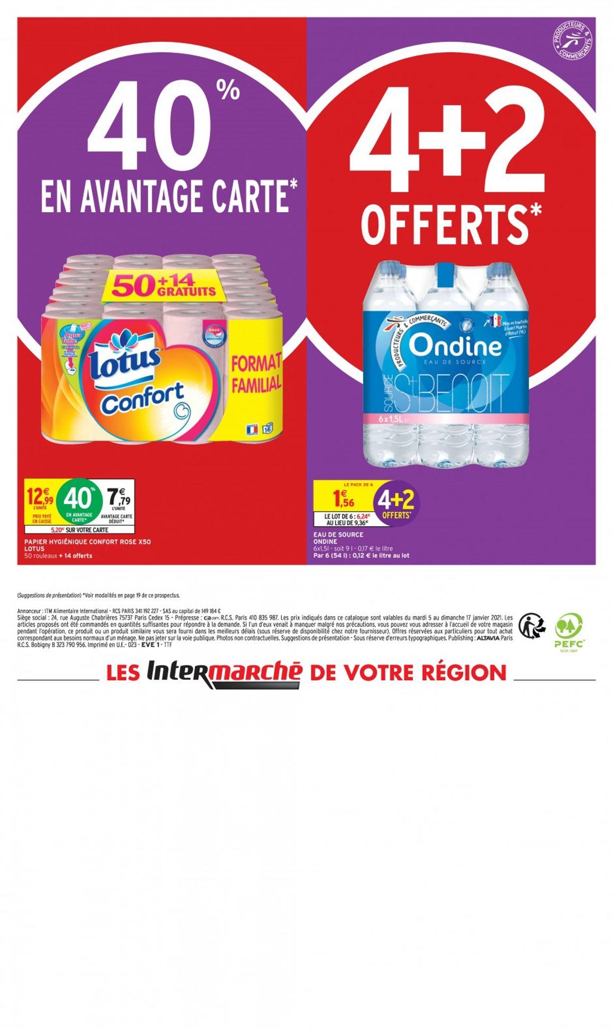 Intermarché En Gros Volume C'est Moins Cher 2021 Catalogue - 05.01-17.01.2021 (Page 24)
