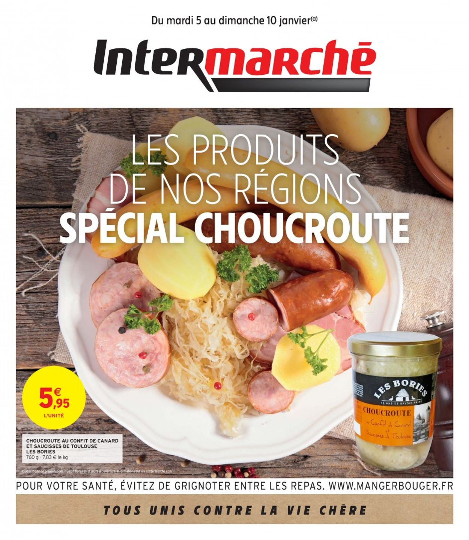 Intermarché Special Choucroute 2021 Catalogue - 05.01-10.01.2021