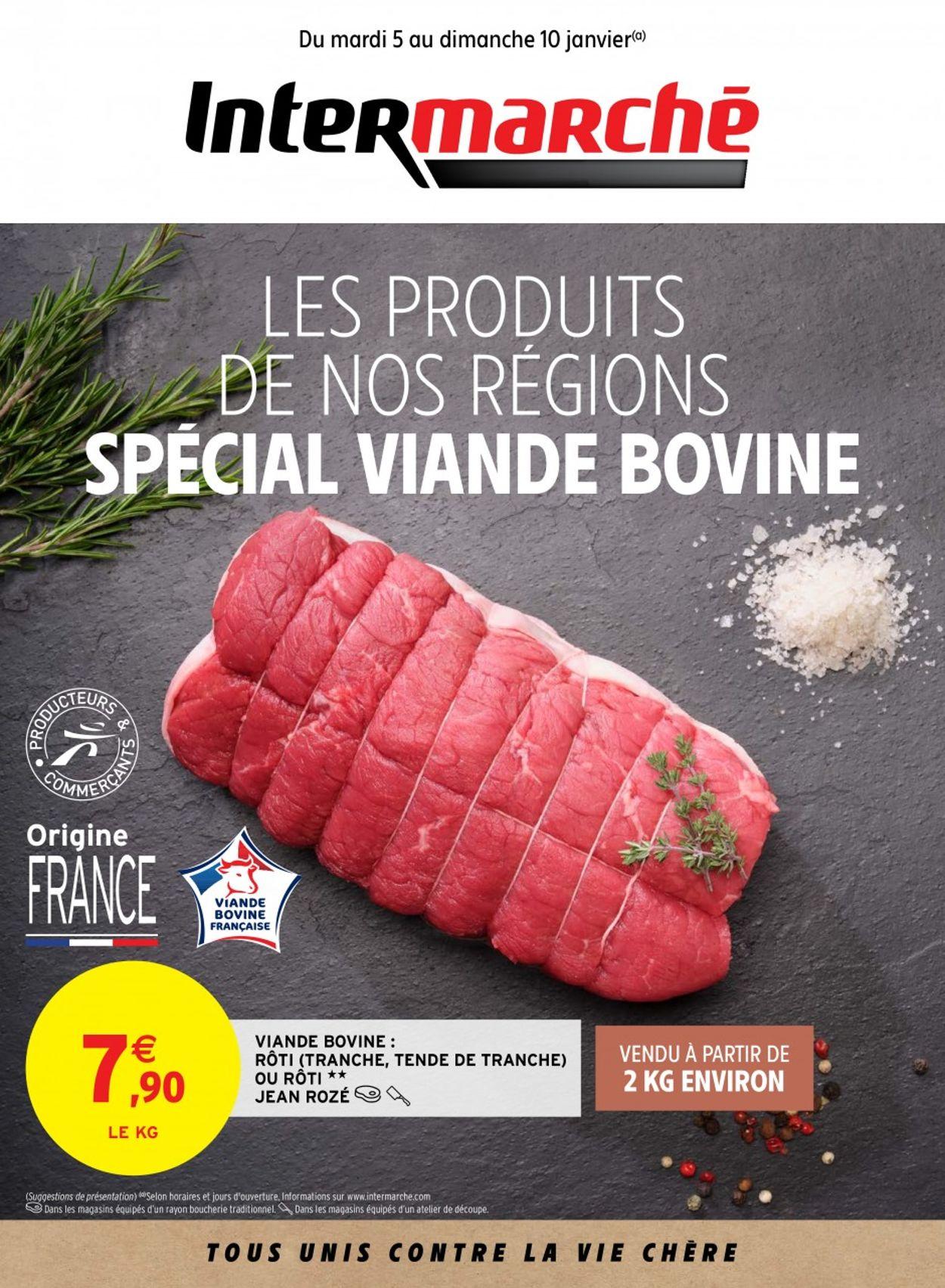 Intermarché SPÉCIAL Viande Bovine 2021 Catalogue - 05.01-10.01.2021