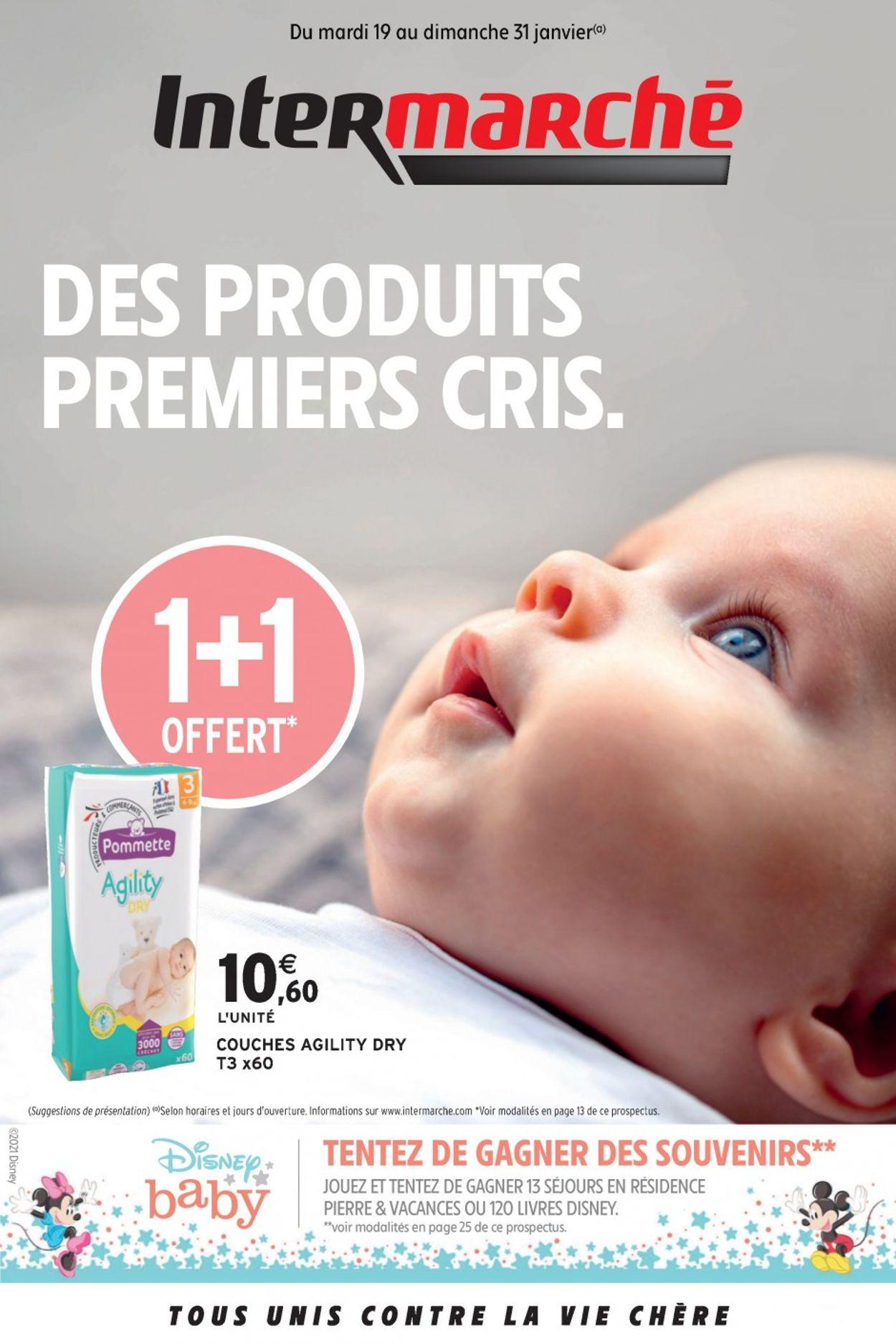 Intermarché Des Produits Premiers Cris 2021 Catalogue - 19.01-31.01.2021