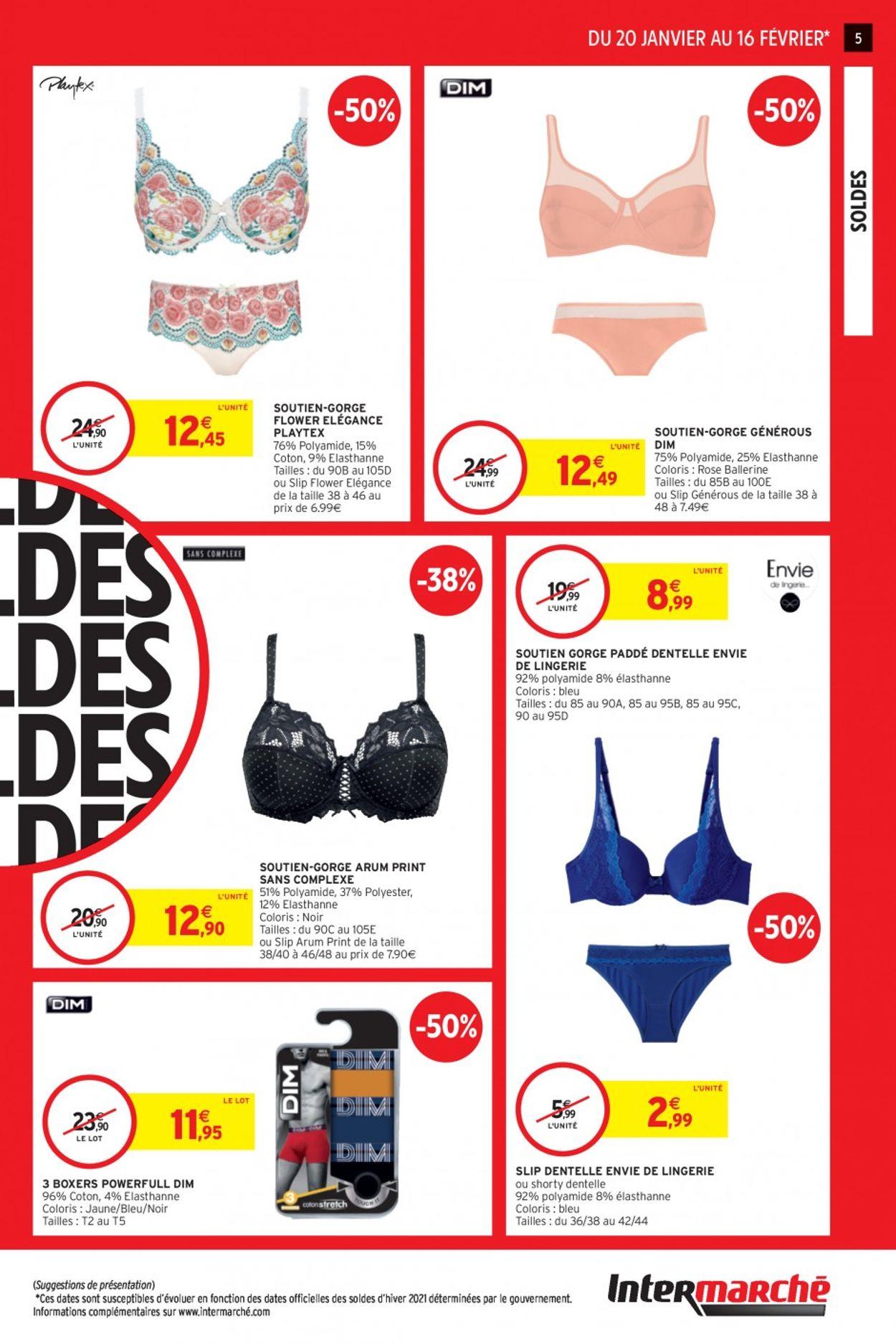 Intermarché Soldes 2021 Catalogue - 20.01-16.02.2021 (Page 5)