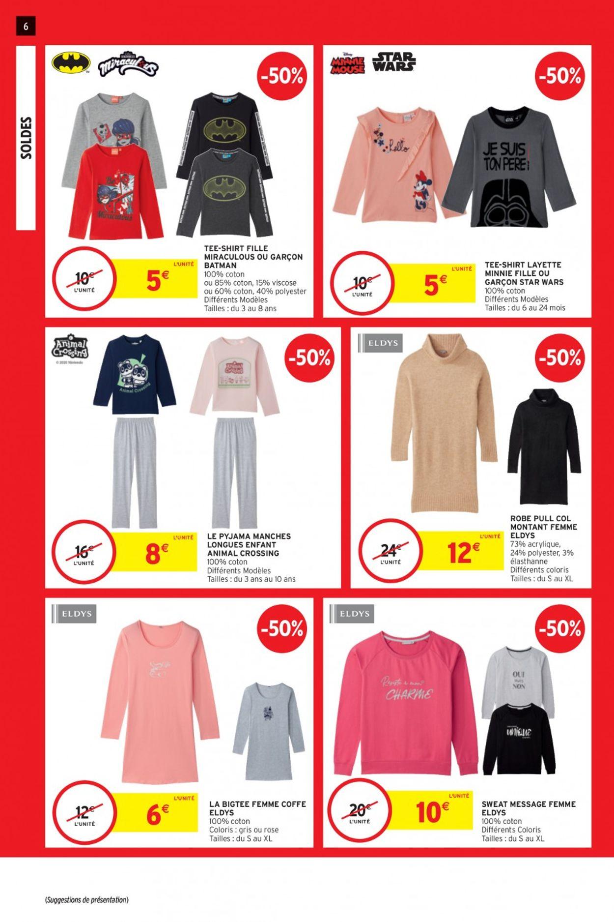 Intermarché Soldes 2021 Catalogue - 20.01-16.02.2021 (Page 6)