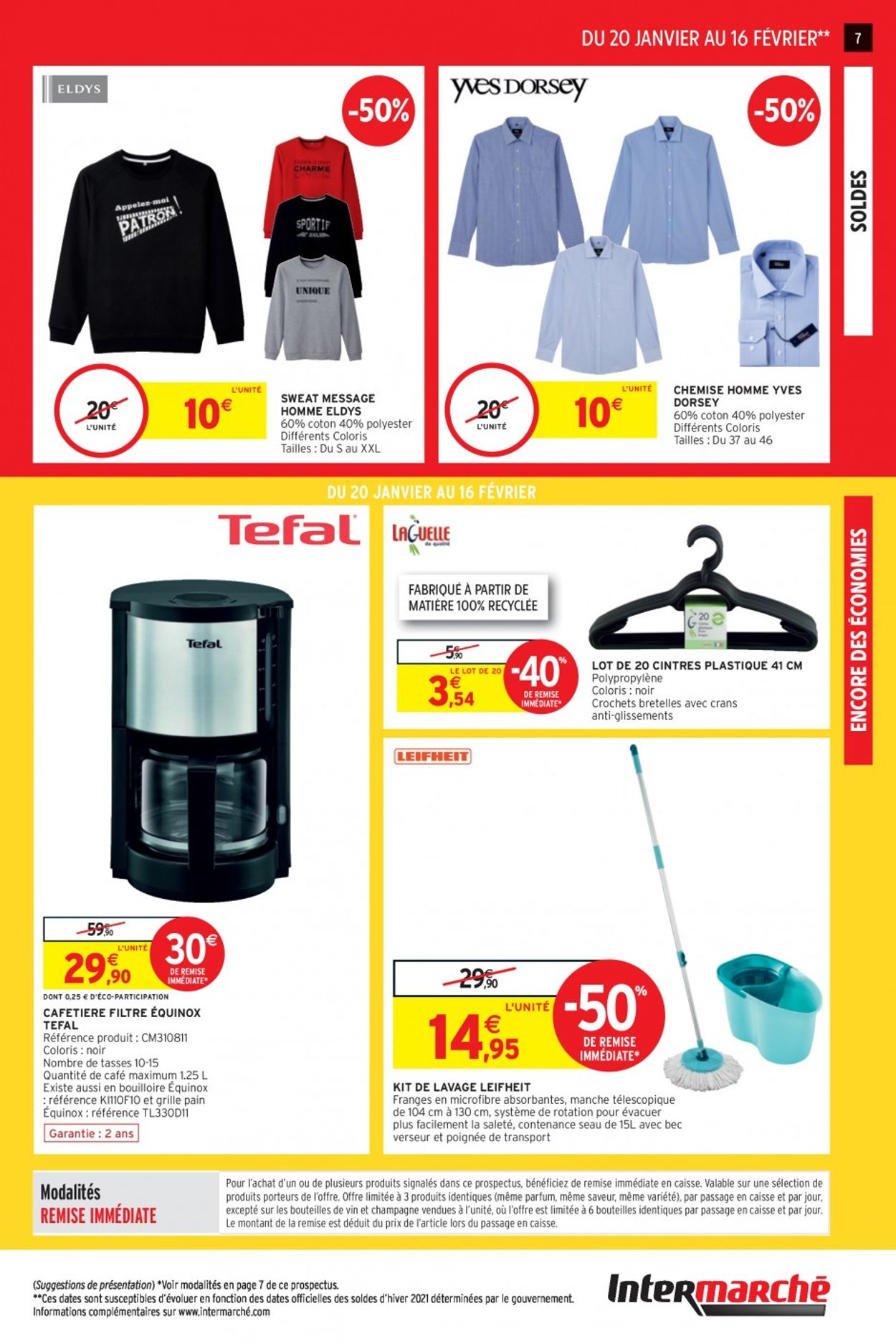 Intermarché Soldes 2021 Catalogue - 20.01-16.02.2021 (Page 7)