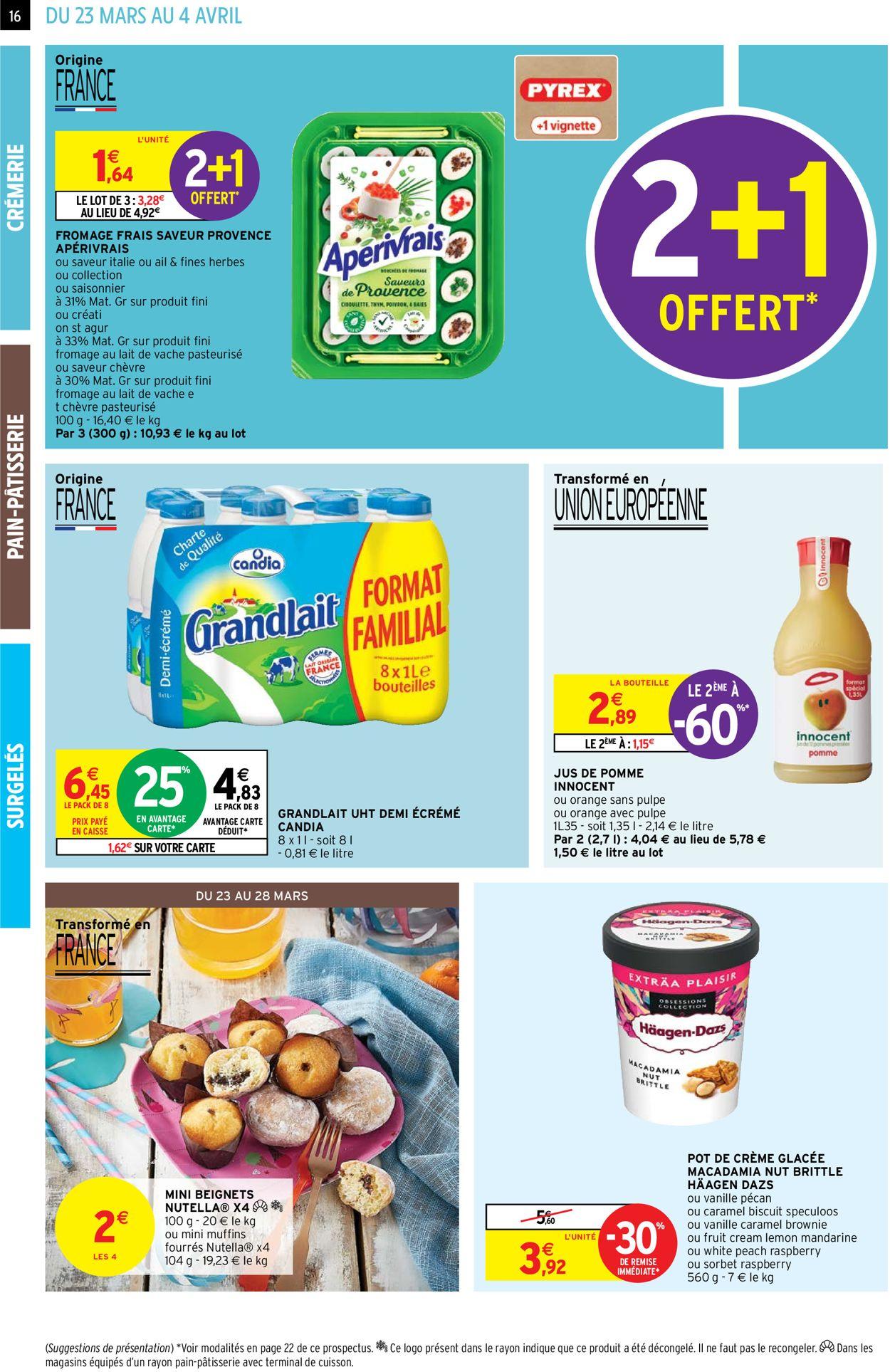 Intermarché Catalogue - 23.03-04.04.2021 (Page 16)