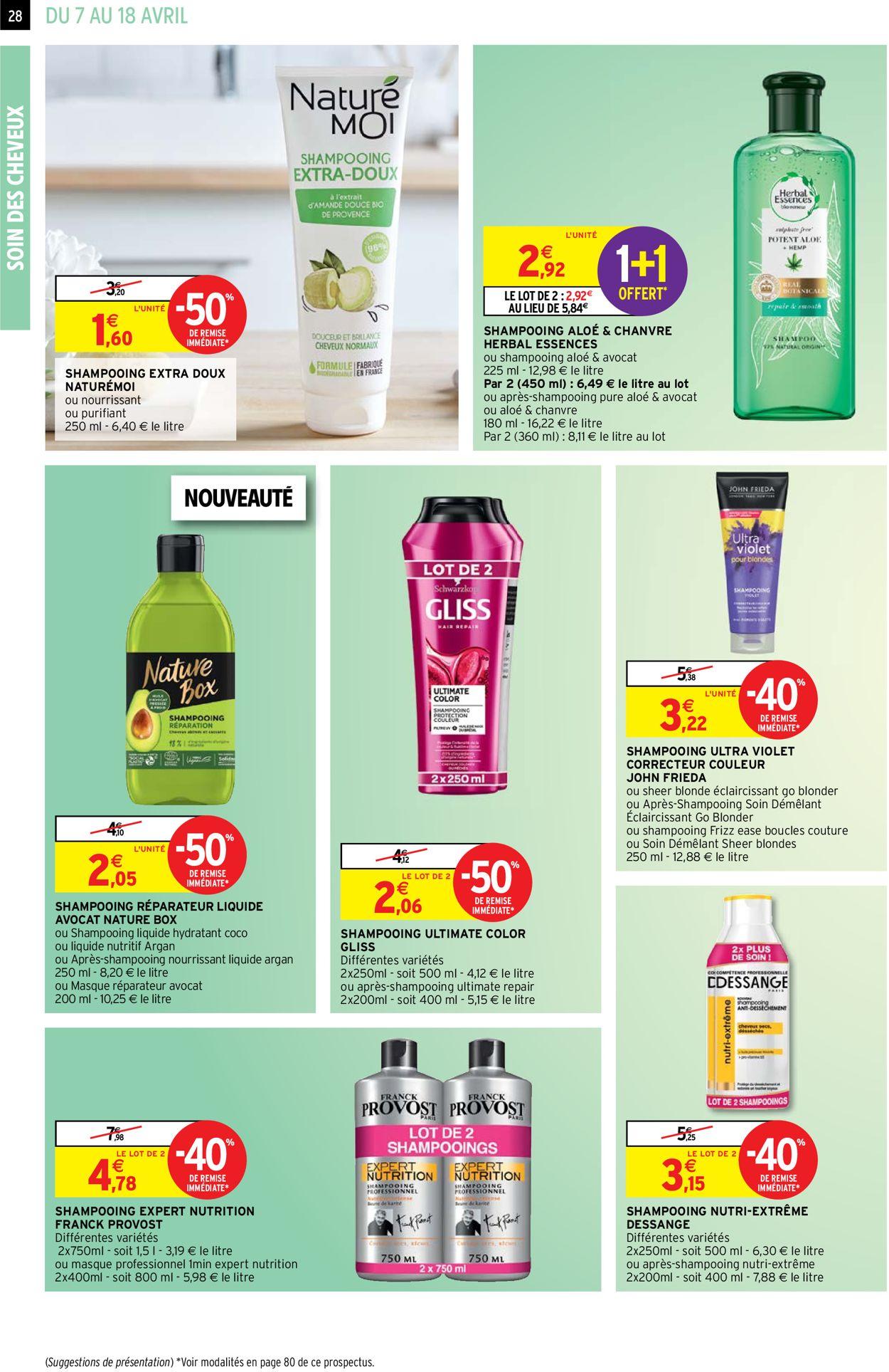 Intermarché Catalogue - 07.04-18.04.2021 (Page 28)