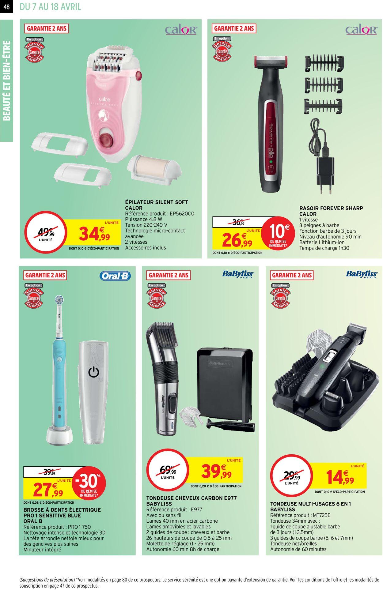 Intermarché Catalogue - 07.04-18.04.2021 (Page 48)
