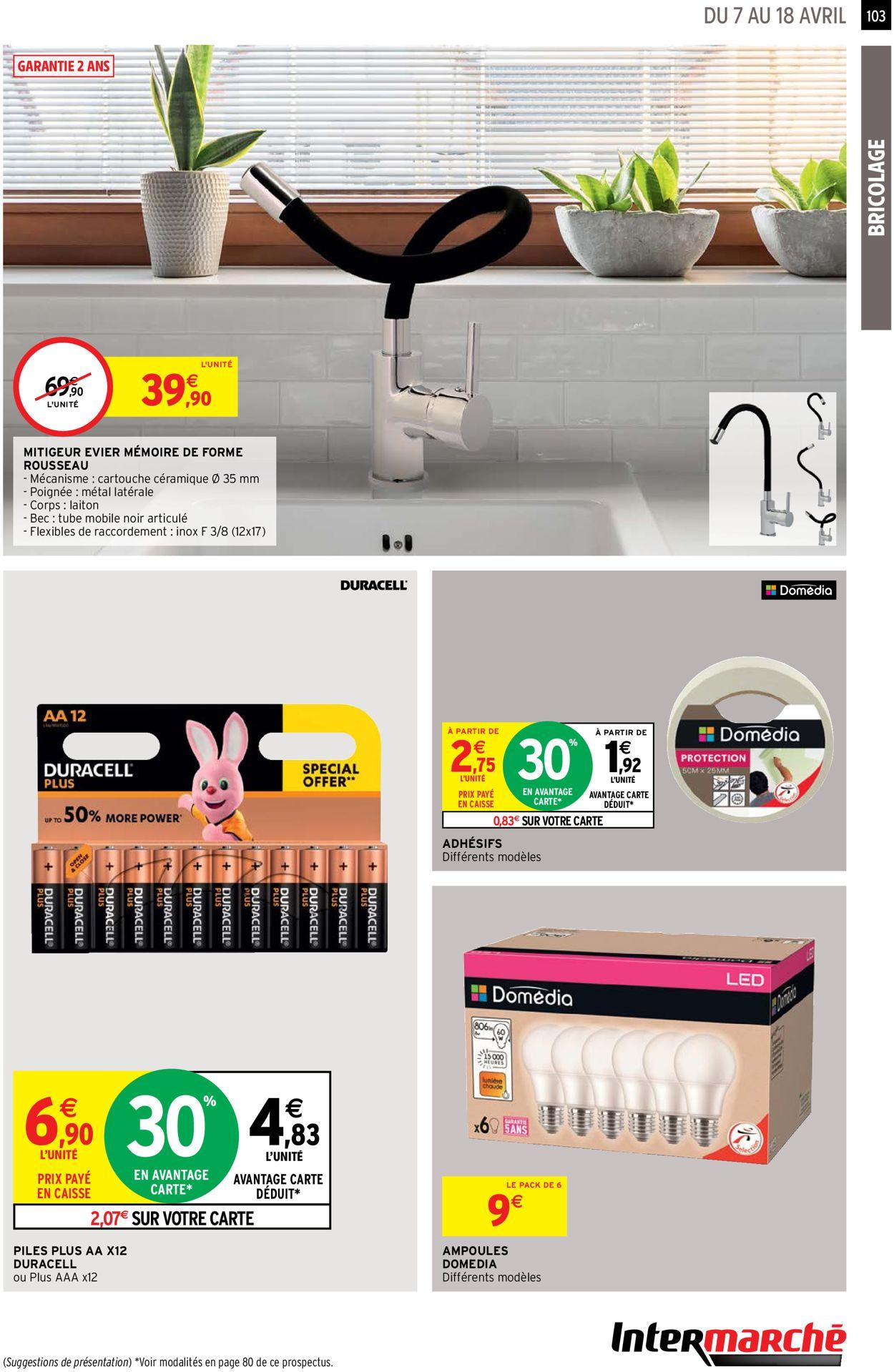 Intermarché Catalogue - 07.04-18.04.2021 (Page 103)