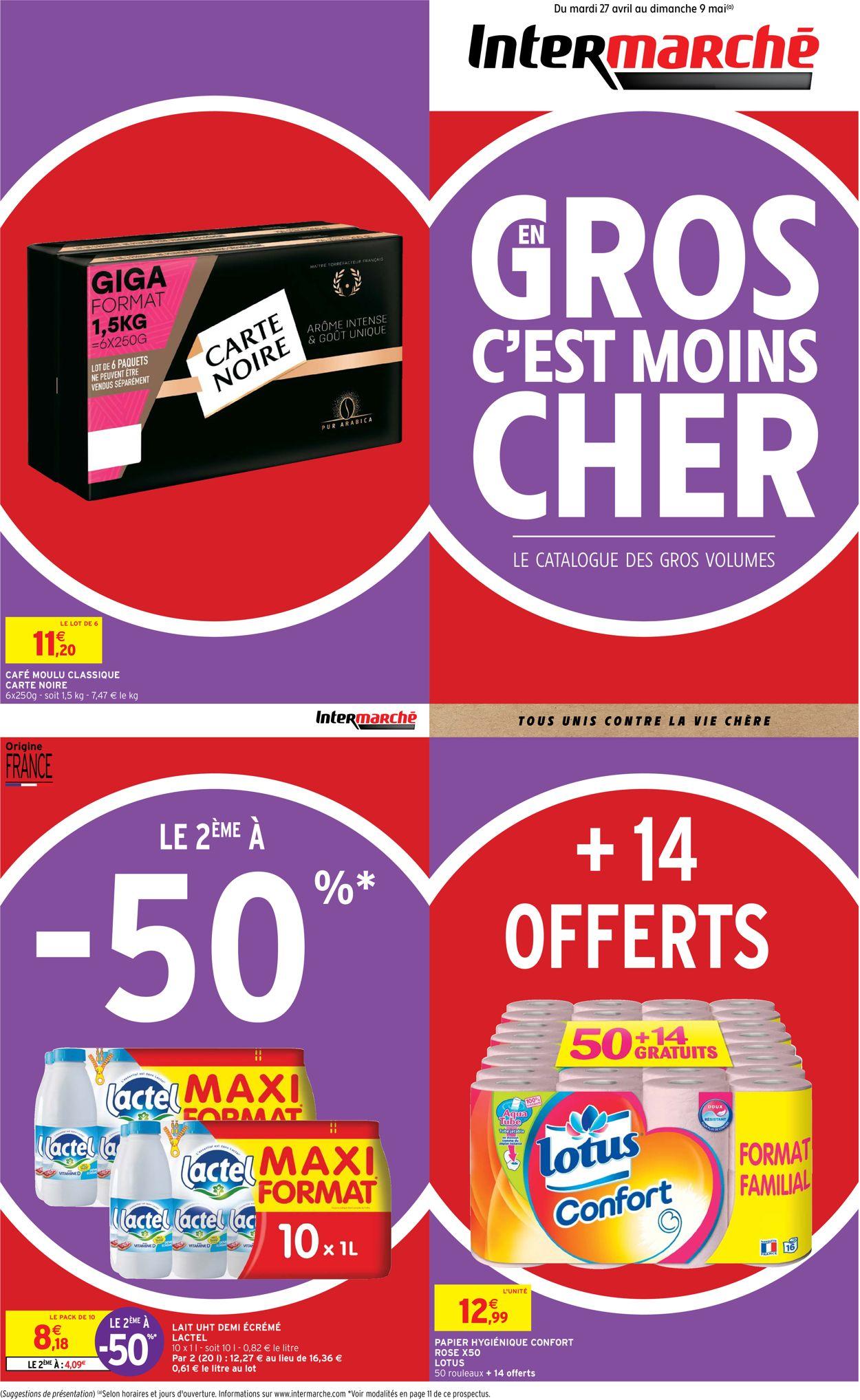 Intermarché Catalogue - 27.04-09.05.2021