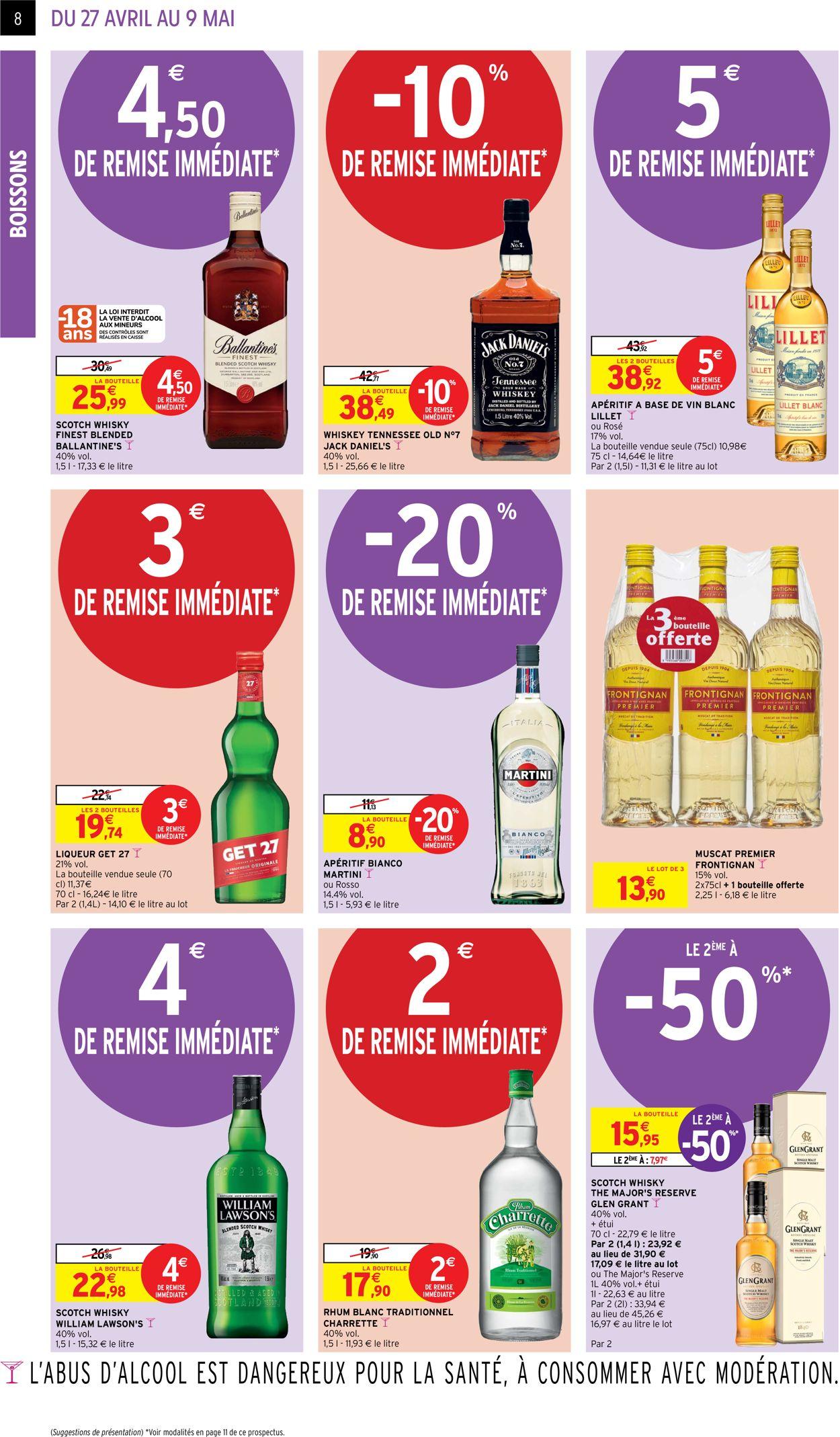 Intermarché Catalogue - 27.04-09.05.2021 (Page 8)