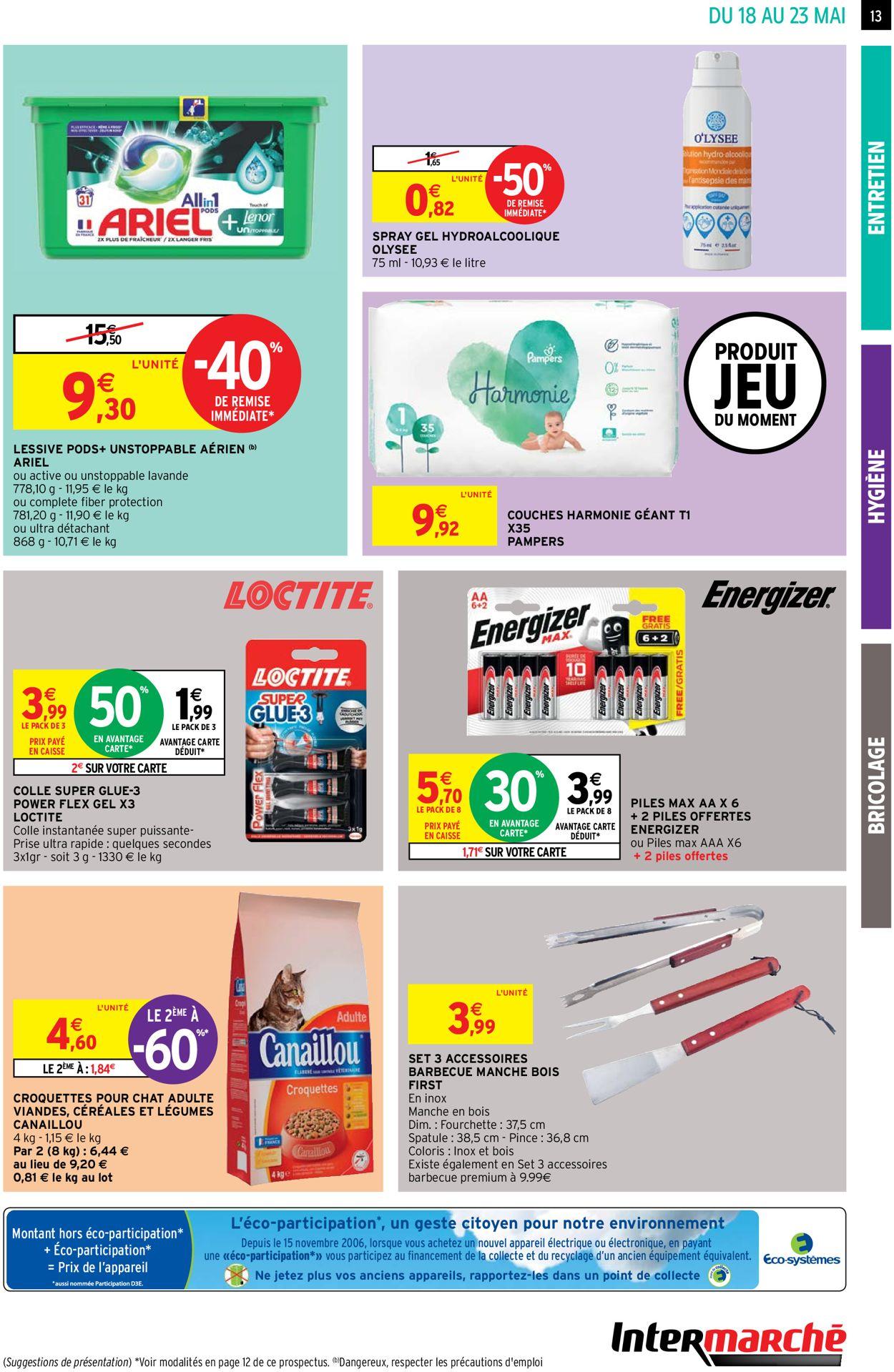 Intermarché Catalogue - 18.05-23.05.2021 (Page 13)