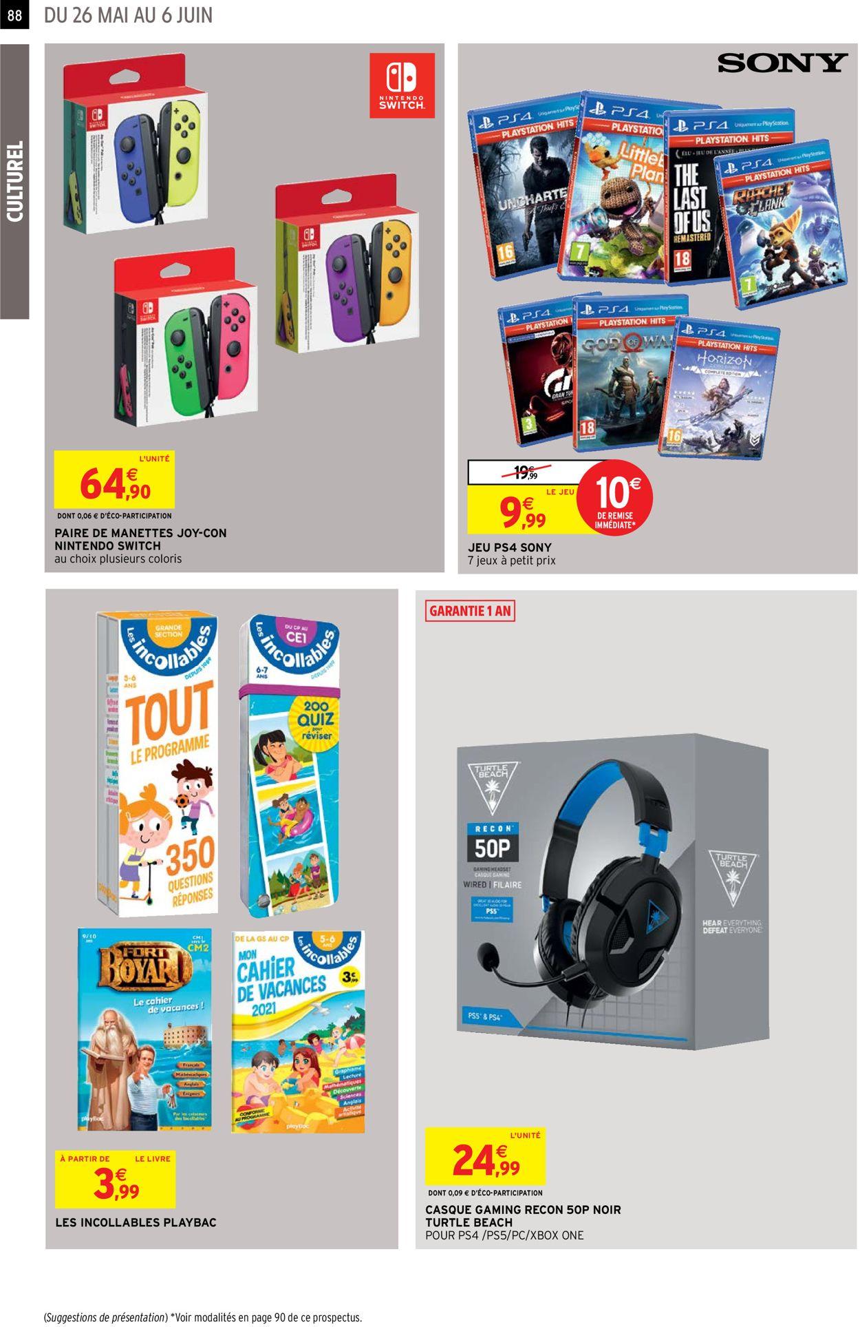 Intermarché Catalogue - 26.05-06.06.2021 (Page 88)
