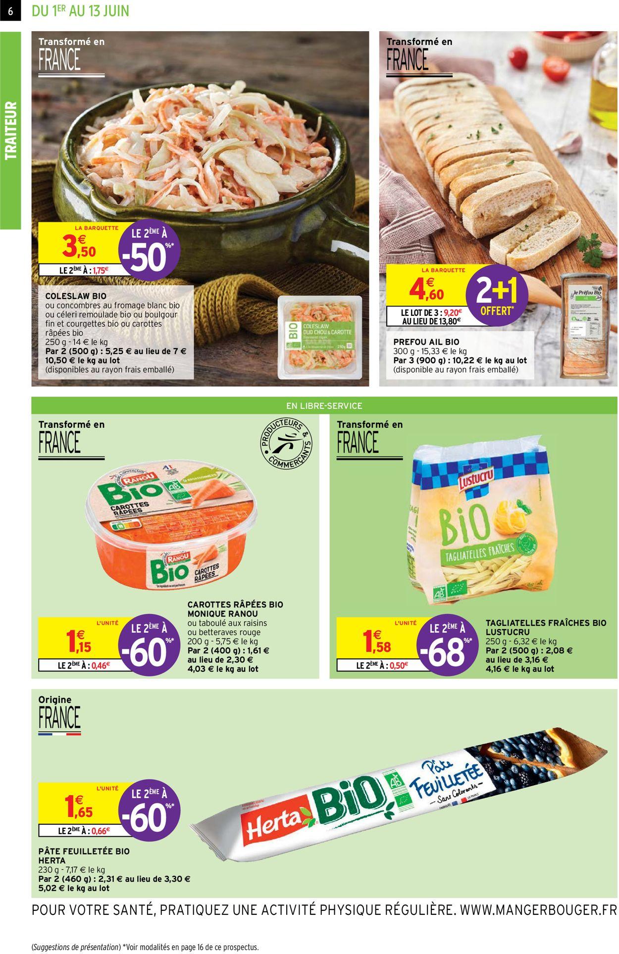 Intermarché Catalogue - 01.06-13.06.2021 (Page 6)