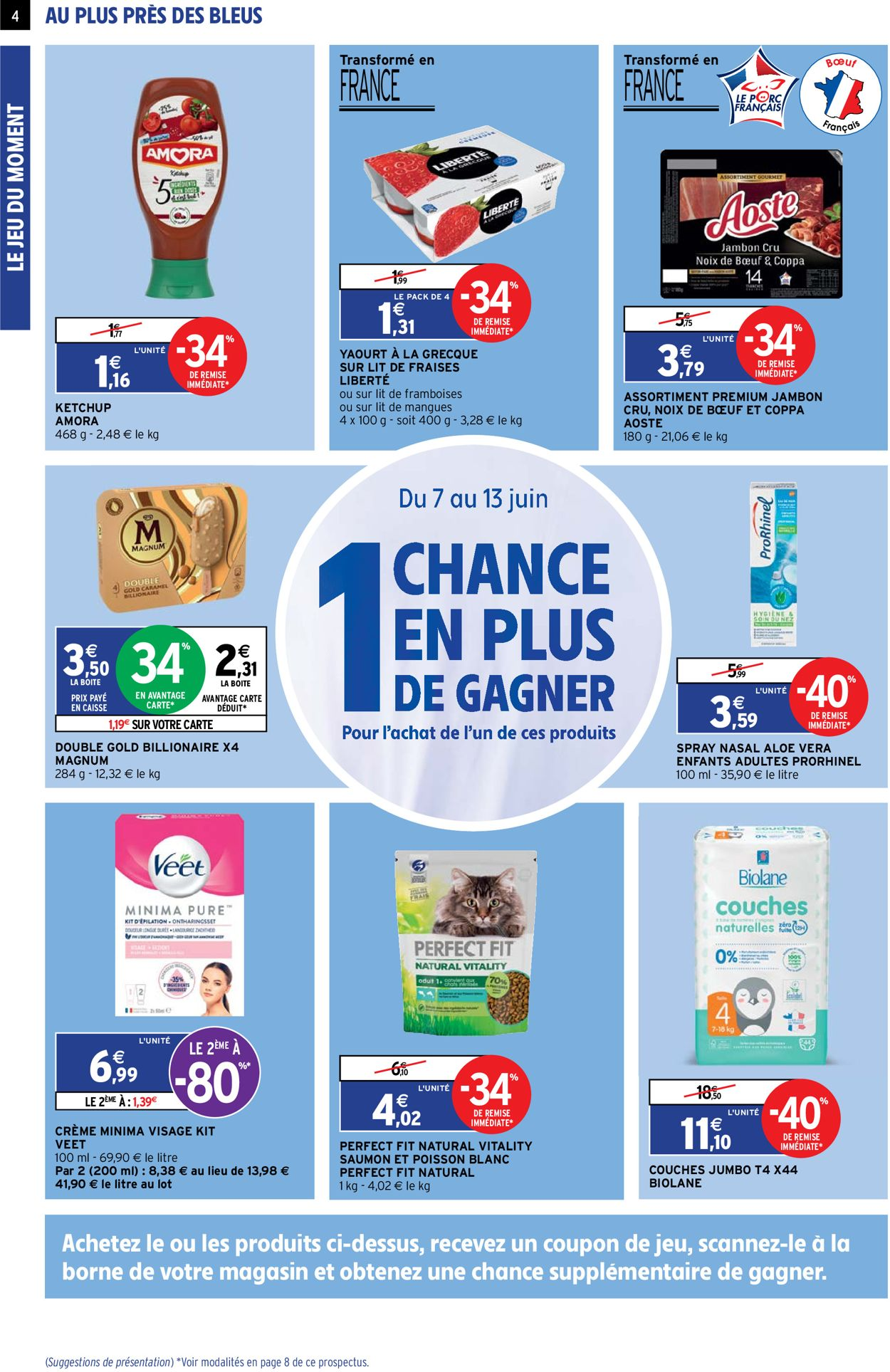 Intermarché Catalogue - 08.06-13.06.2021 (Page 4)