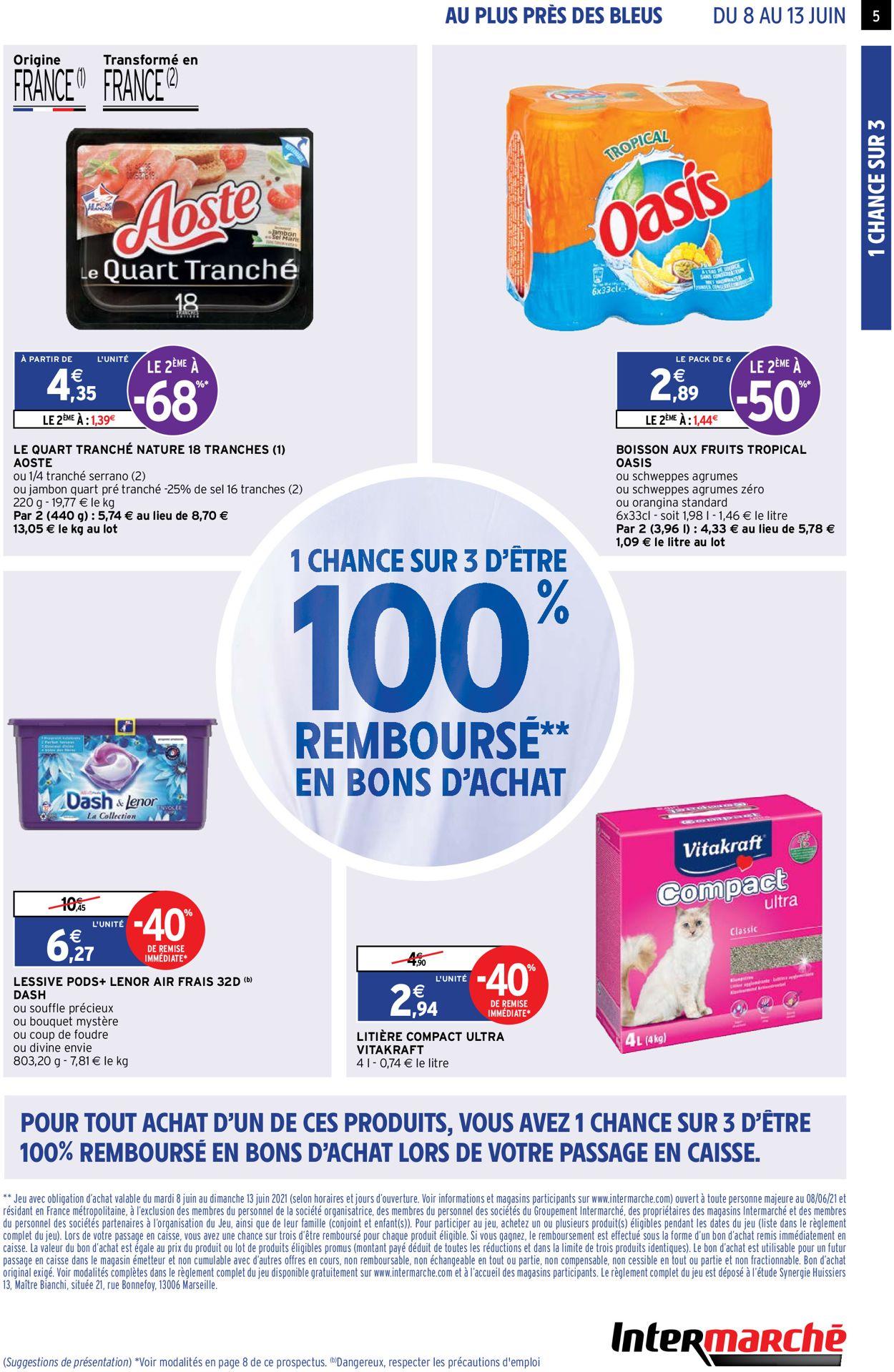 Intermarché Catalogue - 08.06-13.06.2021 (Page 5)