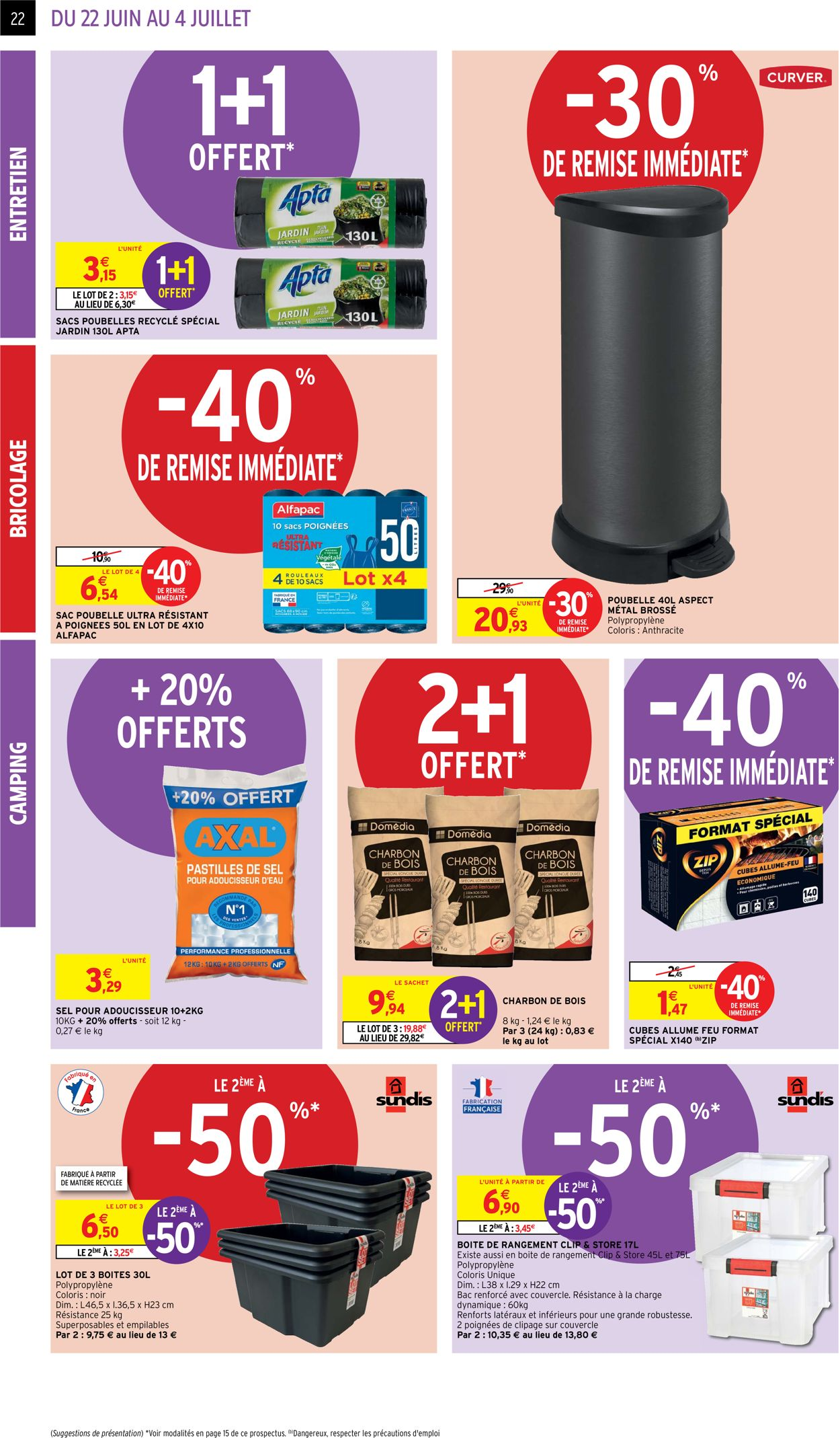 Intermarché Catalogue - 22.06-04.07.2021 (Page 22)