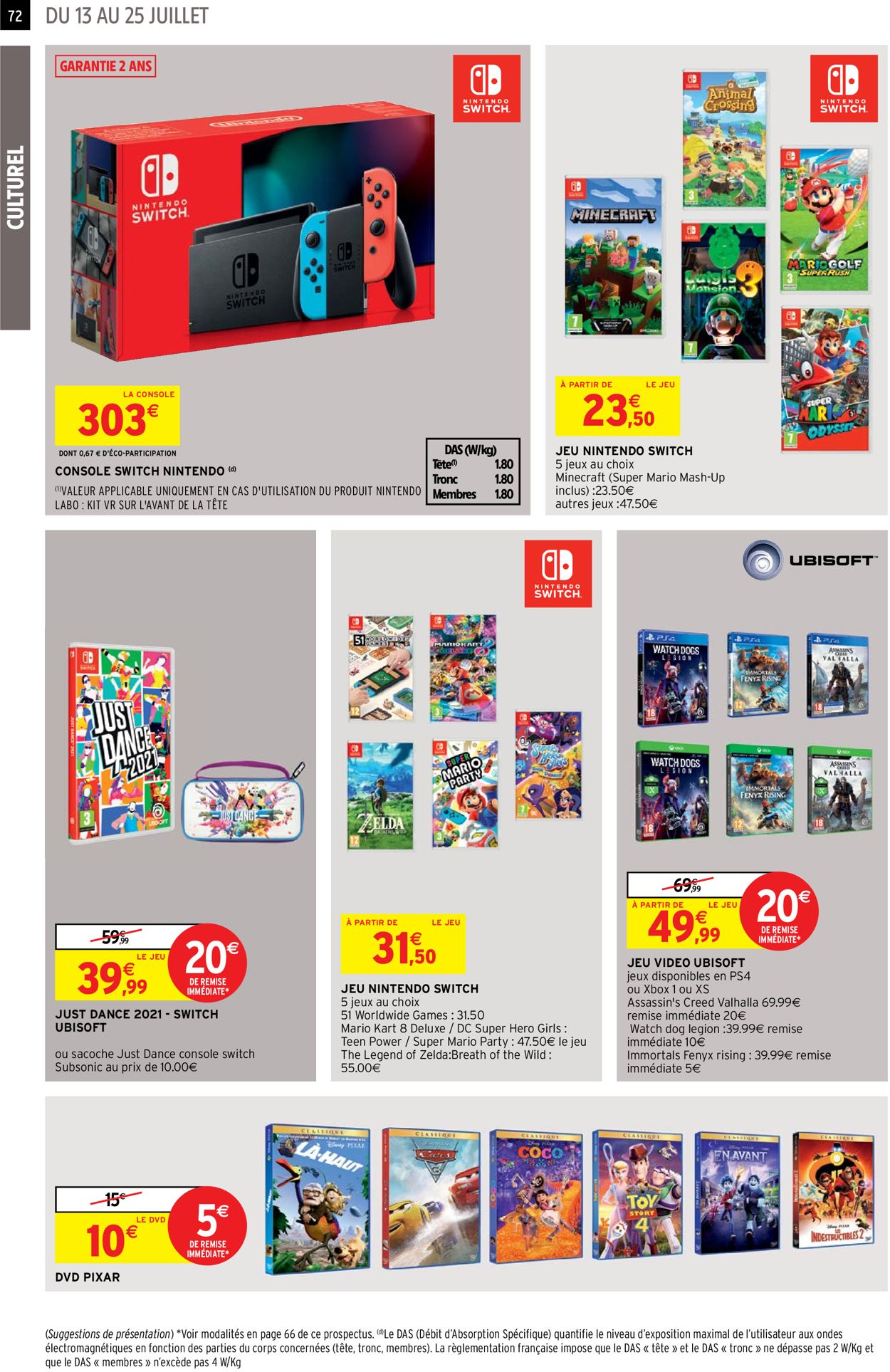 Intermarché Catalogue - 13.07-25.07.2021 (Page 72)