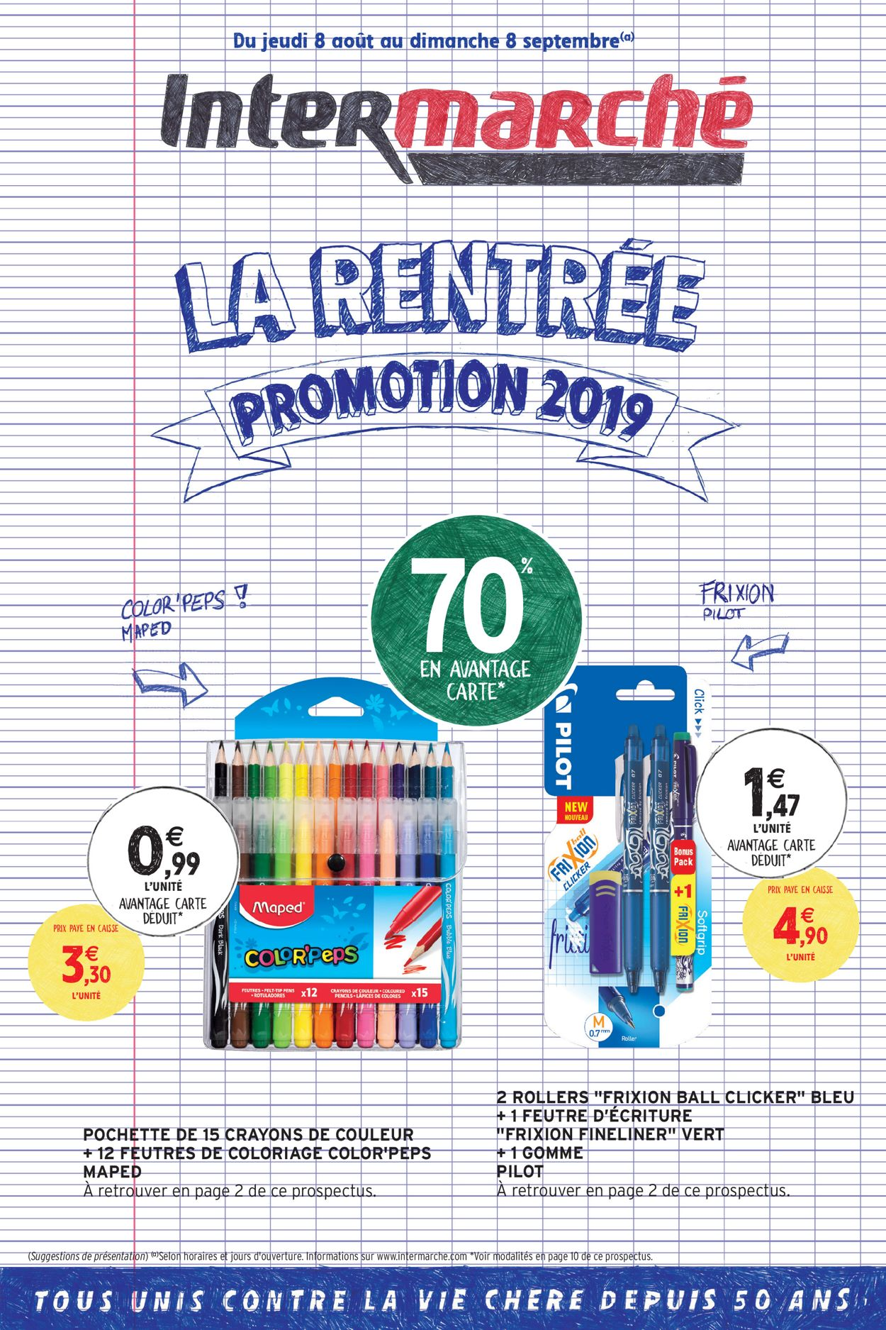 Intermarché Catalogue - 08.08-08.09.2019