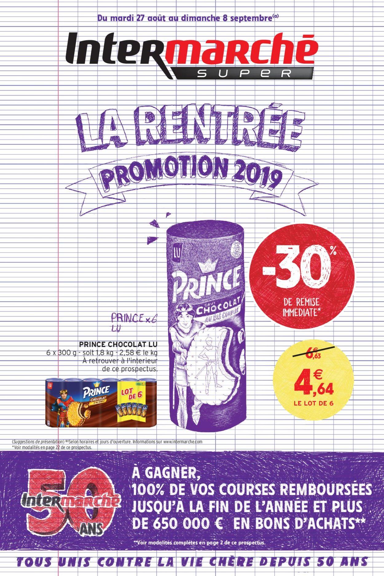 Intermarché Catalogue - 27.08-08.09.2019