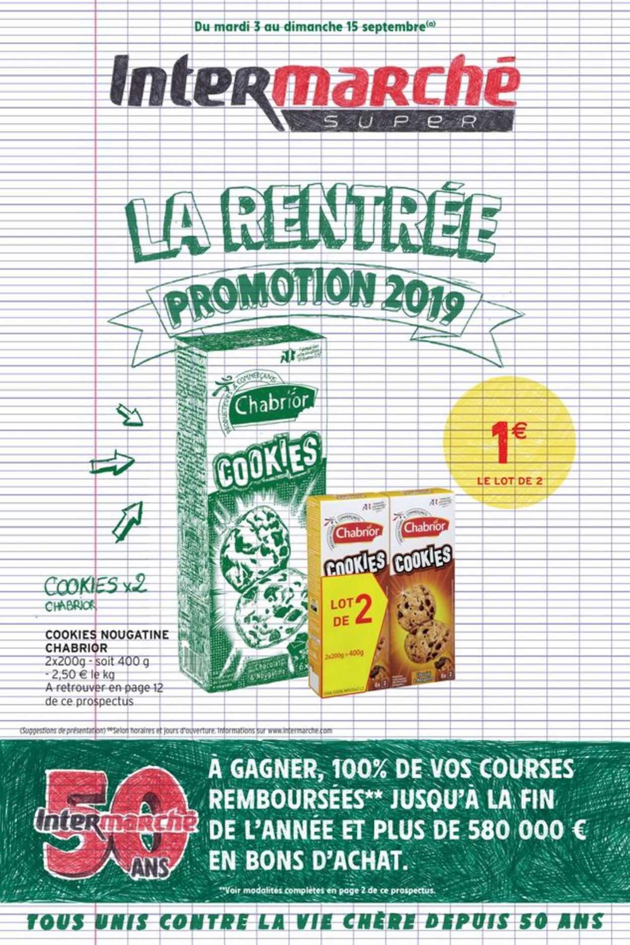 Intermarché Catalogue - 03.09-15.09.2019