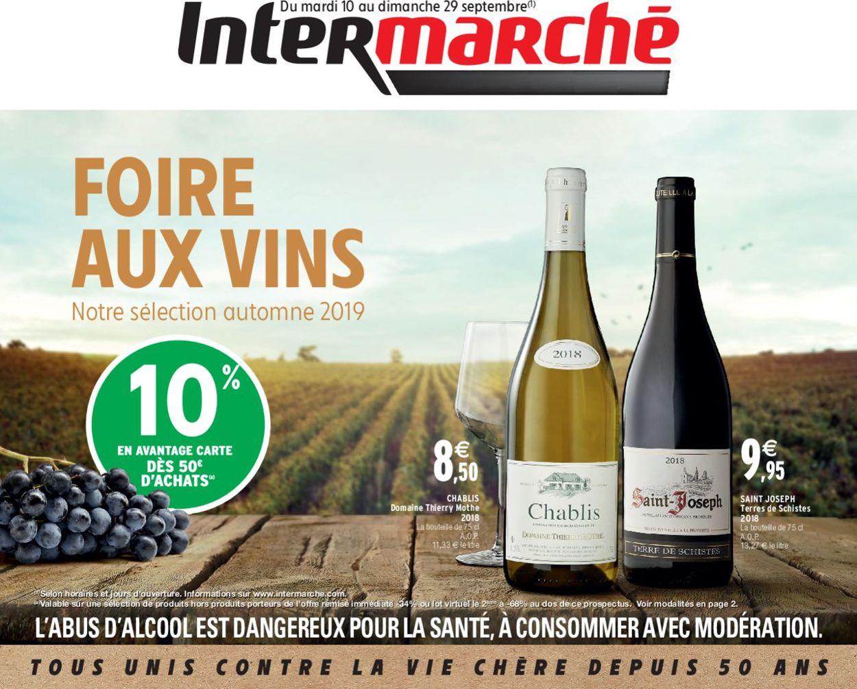 Intermarché Catalogue - 10.09-29.09.2019