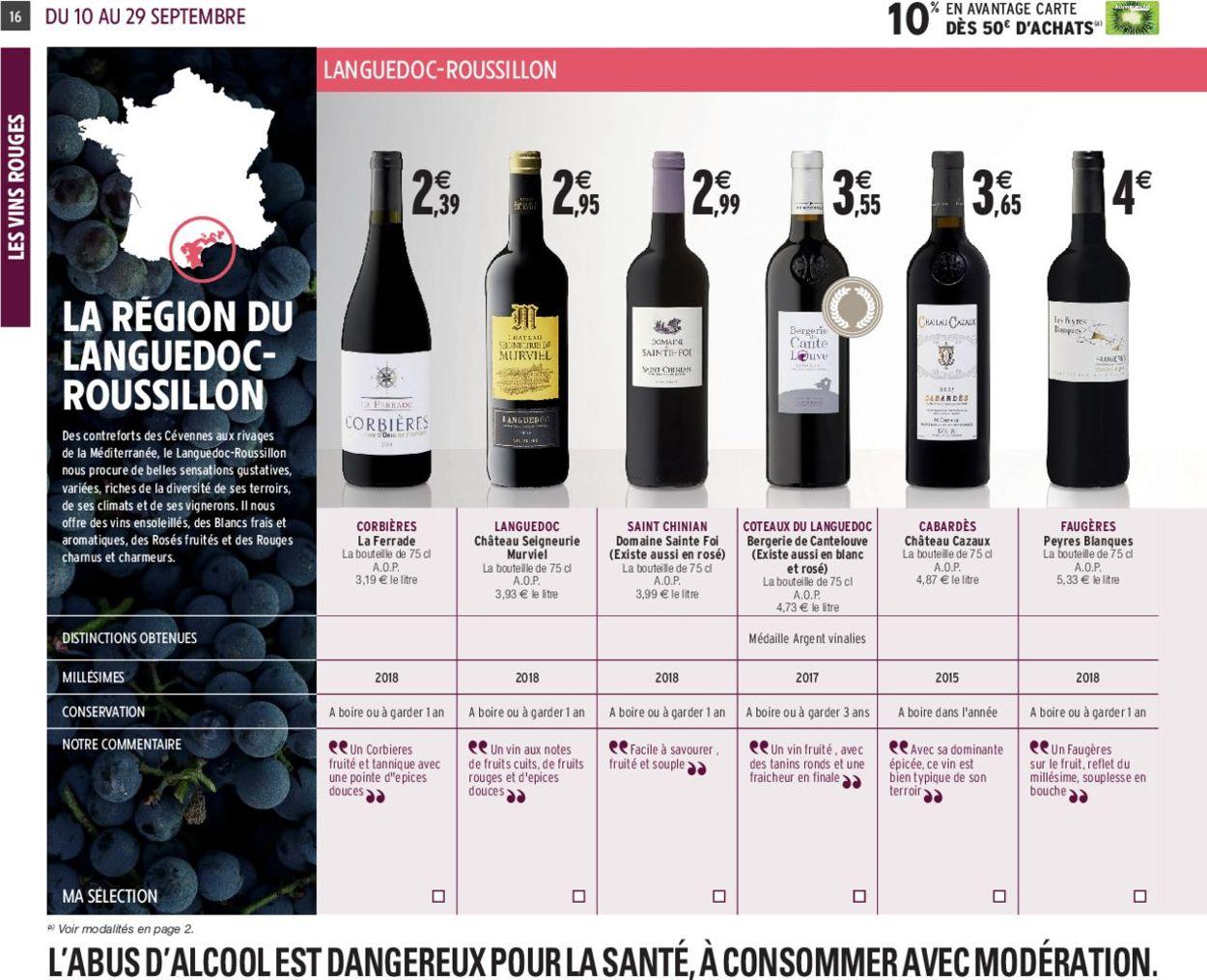 Intermarché Catalogue - 10.09-29.09.2019 (Page 16)