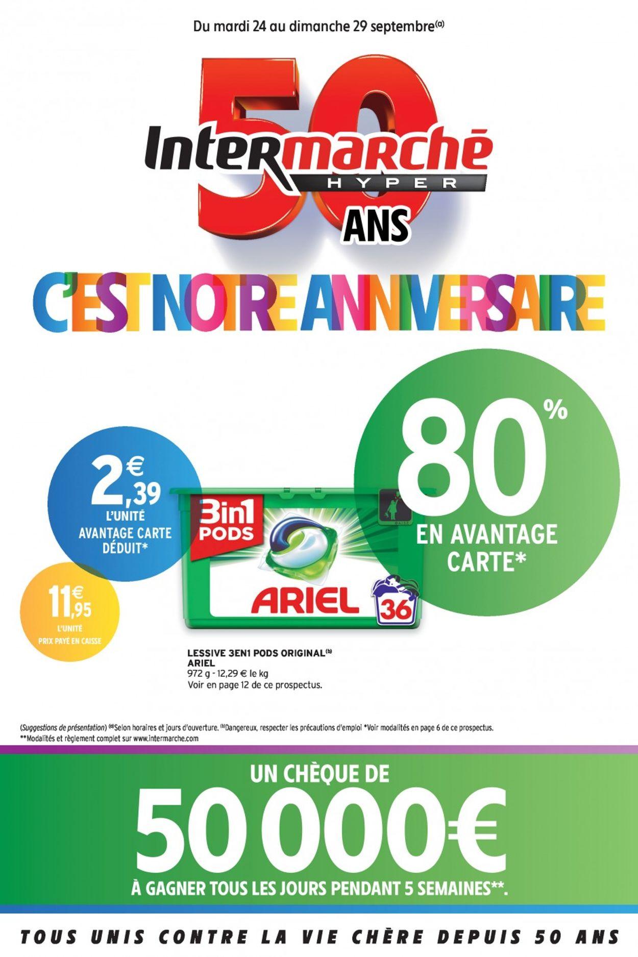 Intermarché Catalogue - 24.09-29.09.2019