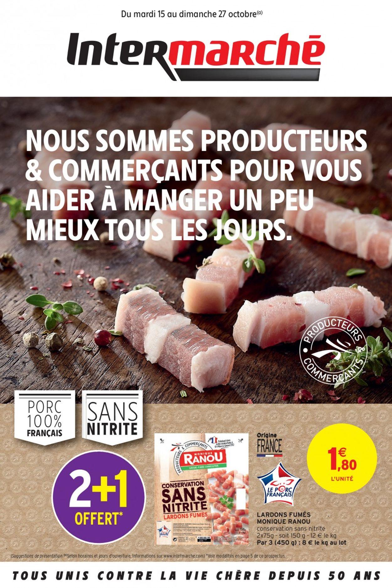 Intermarché Catalogue - 15.10-27.10.2019