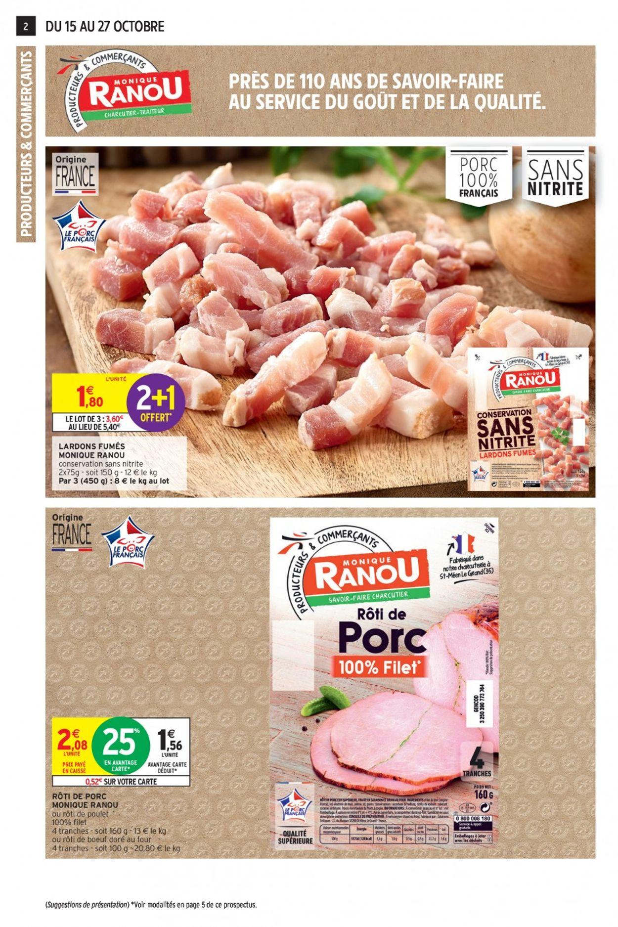 Intermarché Catalogue - 15.10-27.10.2019 (Page 2)