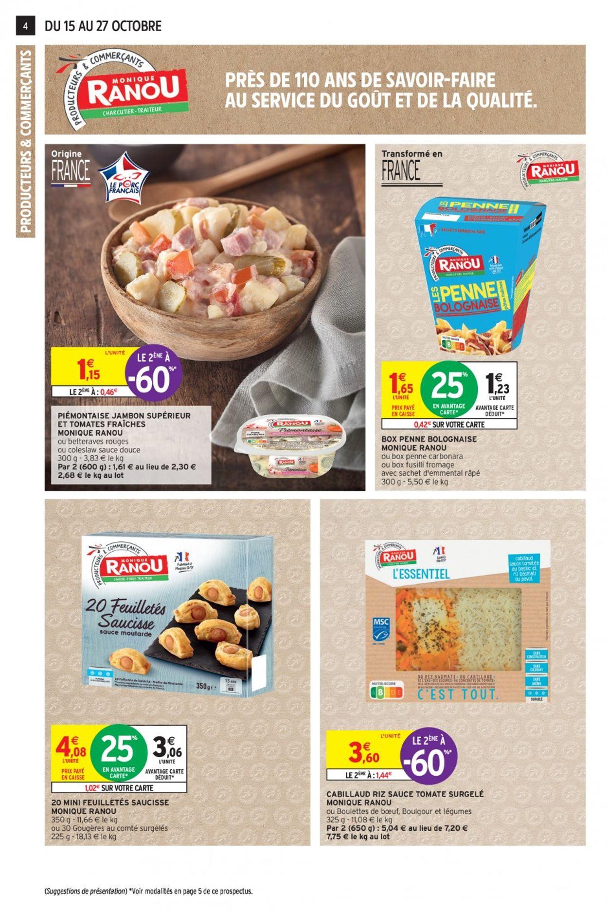 Intermarché Catalogue - 15.10-27.10.2019 (Page 4)