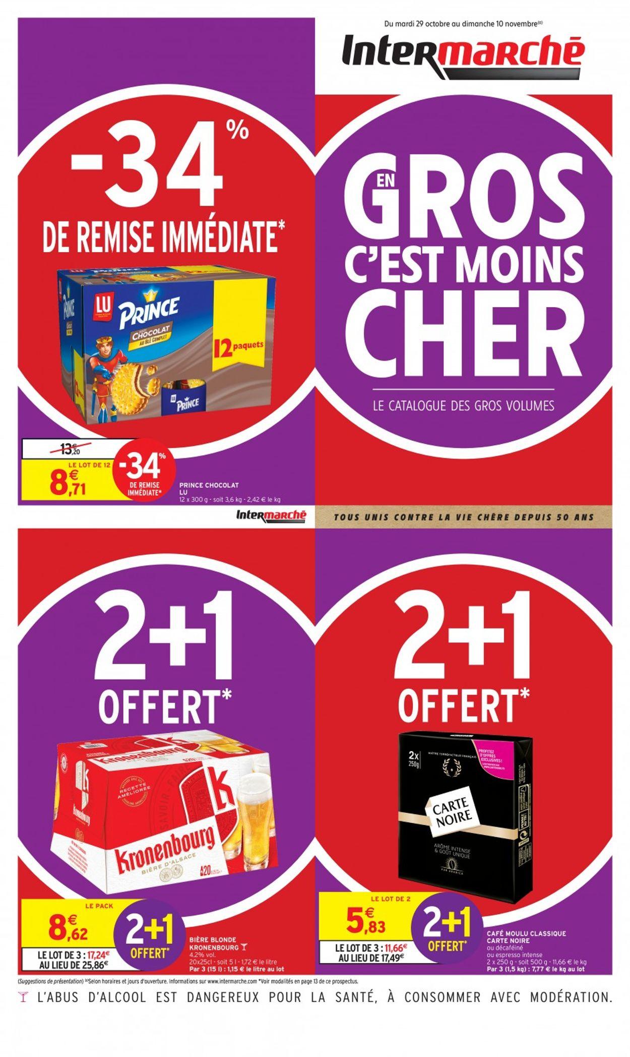 Intermarché Catalogue - 29.10-10.11.2019