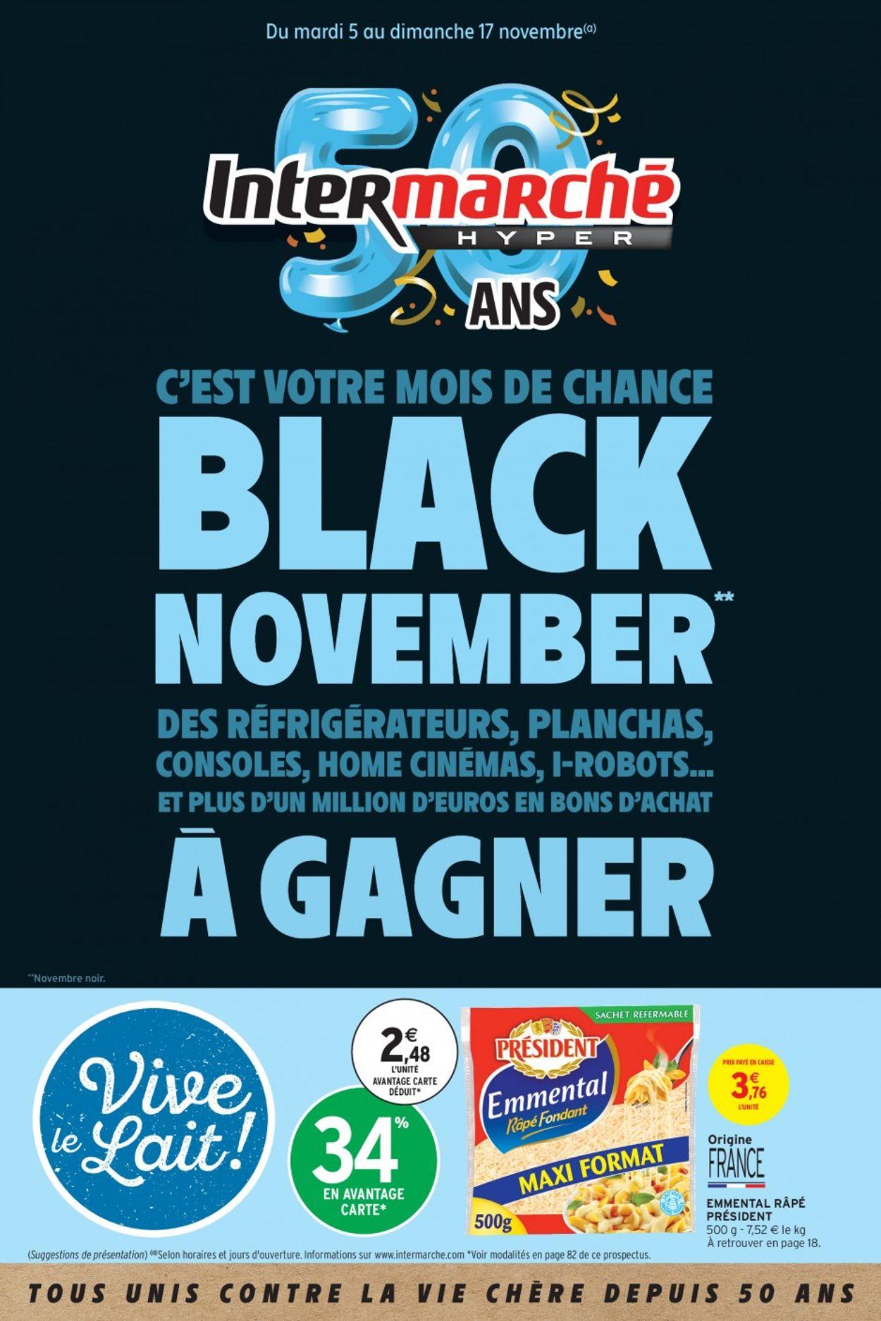 Intermarché - BLACK NOVEMBER 2019 Catalogue - 05.11-17.11.2019